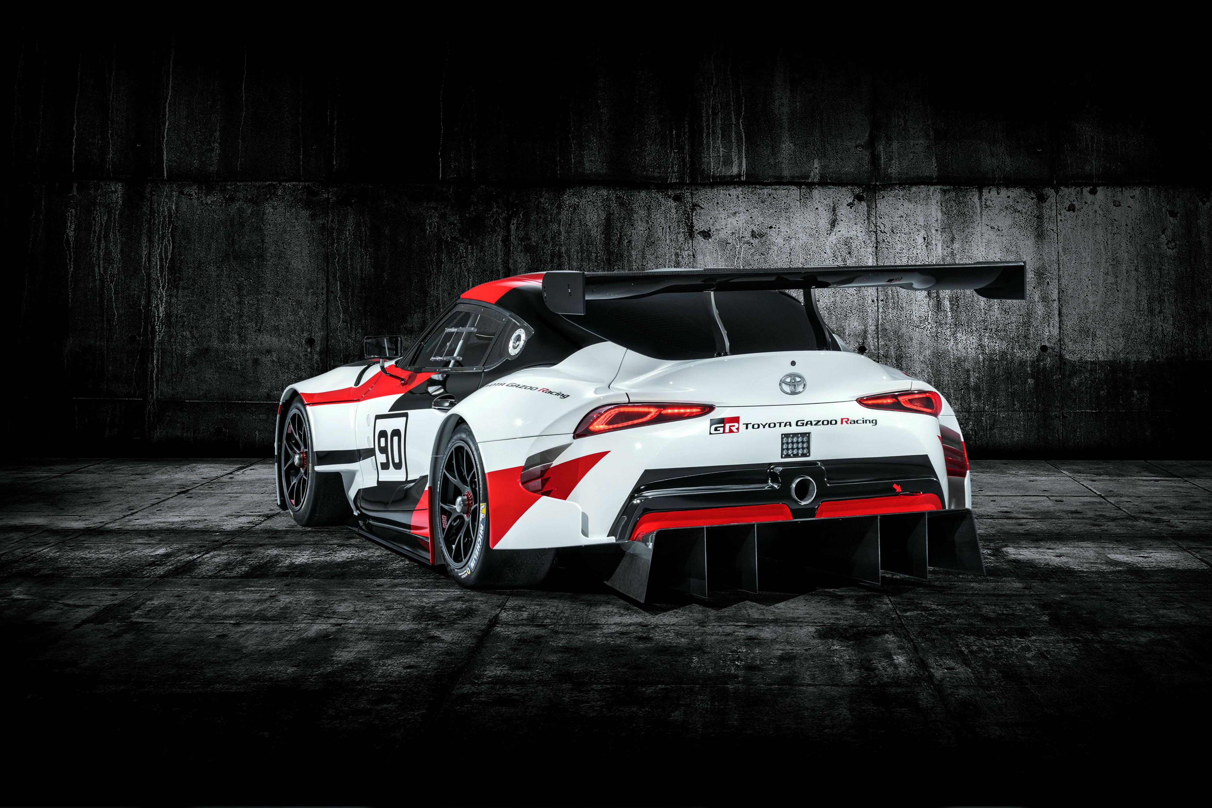Toyota Supra Gr Racing Concept