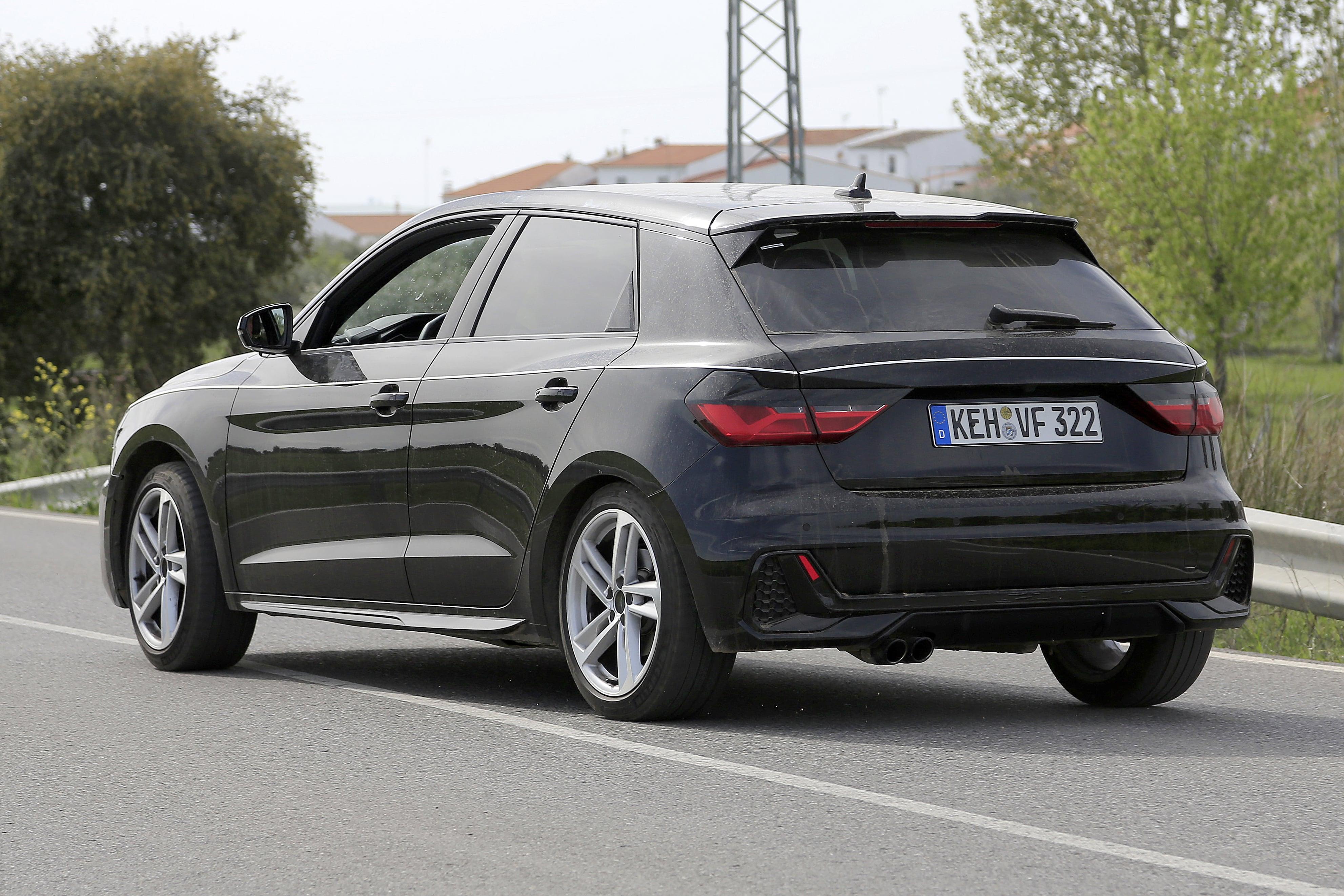 Flagra do novo Audi A1