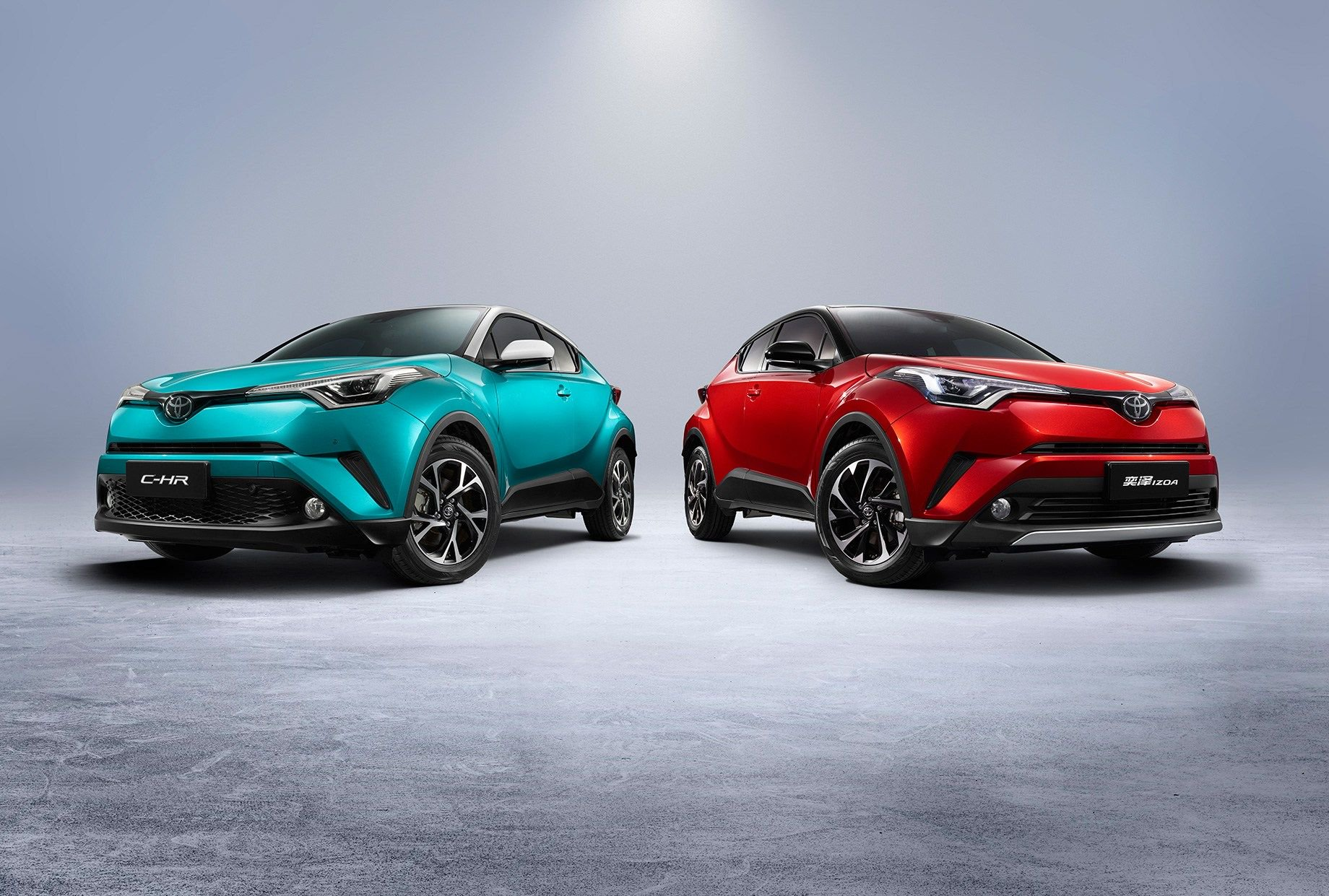 Toyota revelou versões híbridas do Corolla e do C-HR
