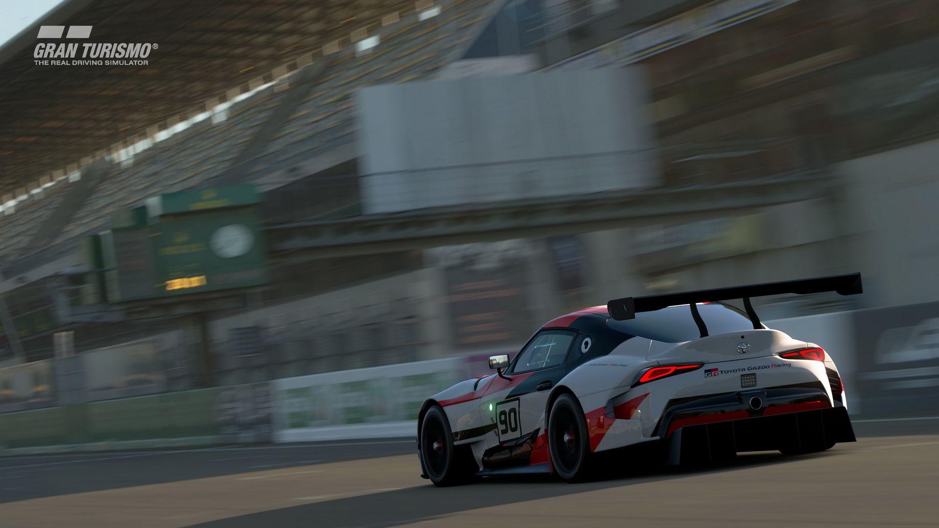 2018 Toyota Gr Supra Racing Concept Gran Turismo Sport 4