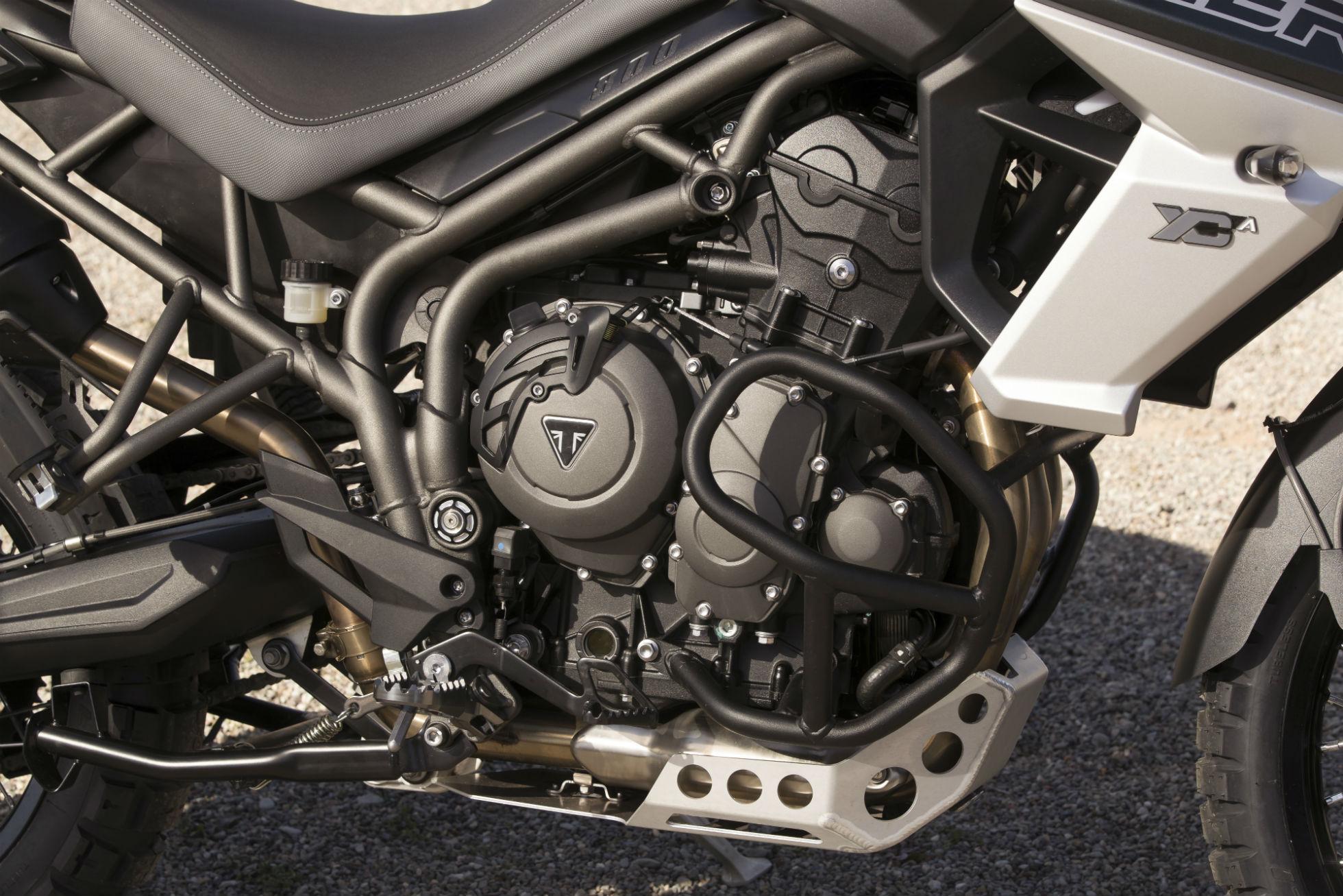 A nova Triumph Tiger 800 manteve a mesma motorização