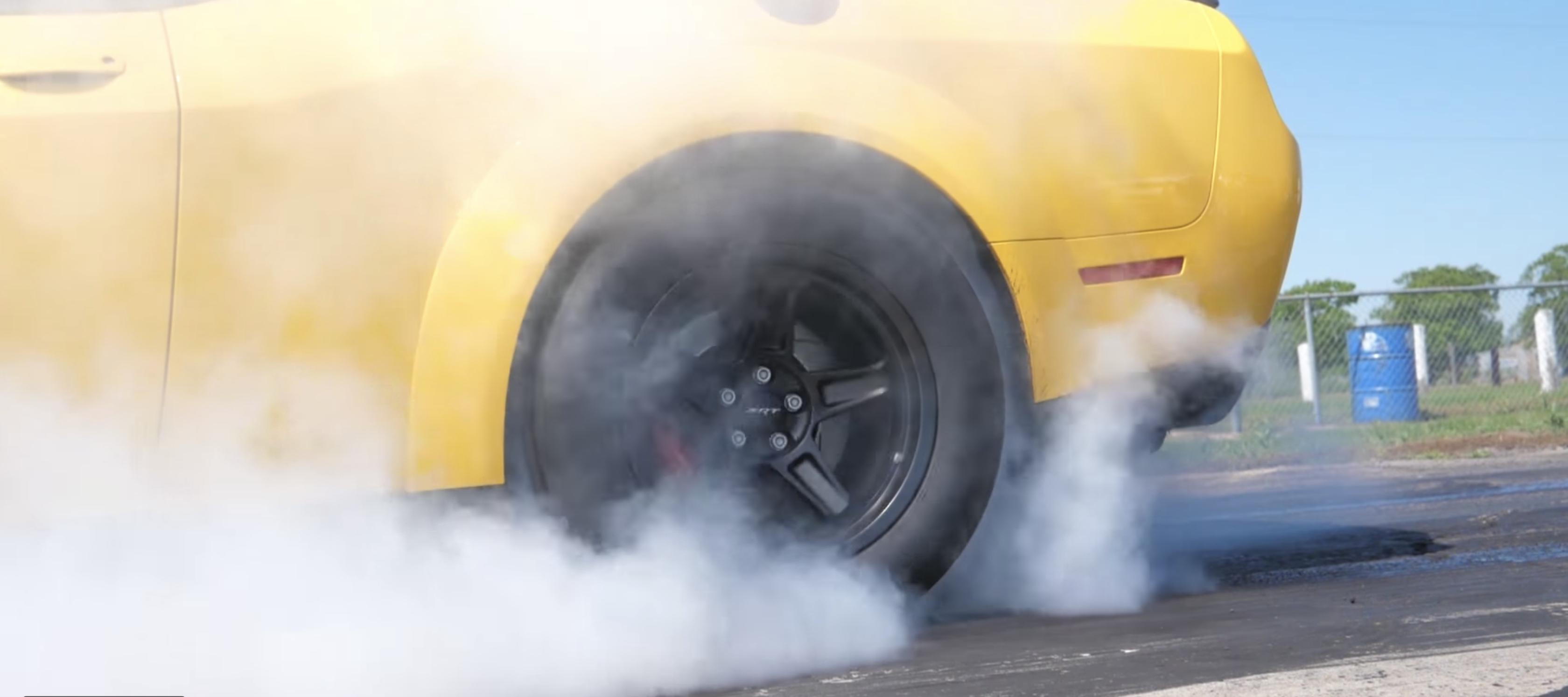 11 Dodge Challenger SRT Demon Hennessey