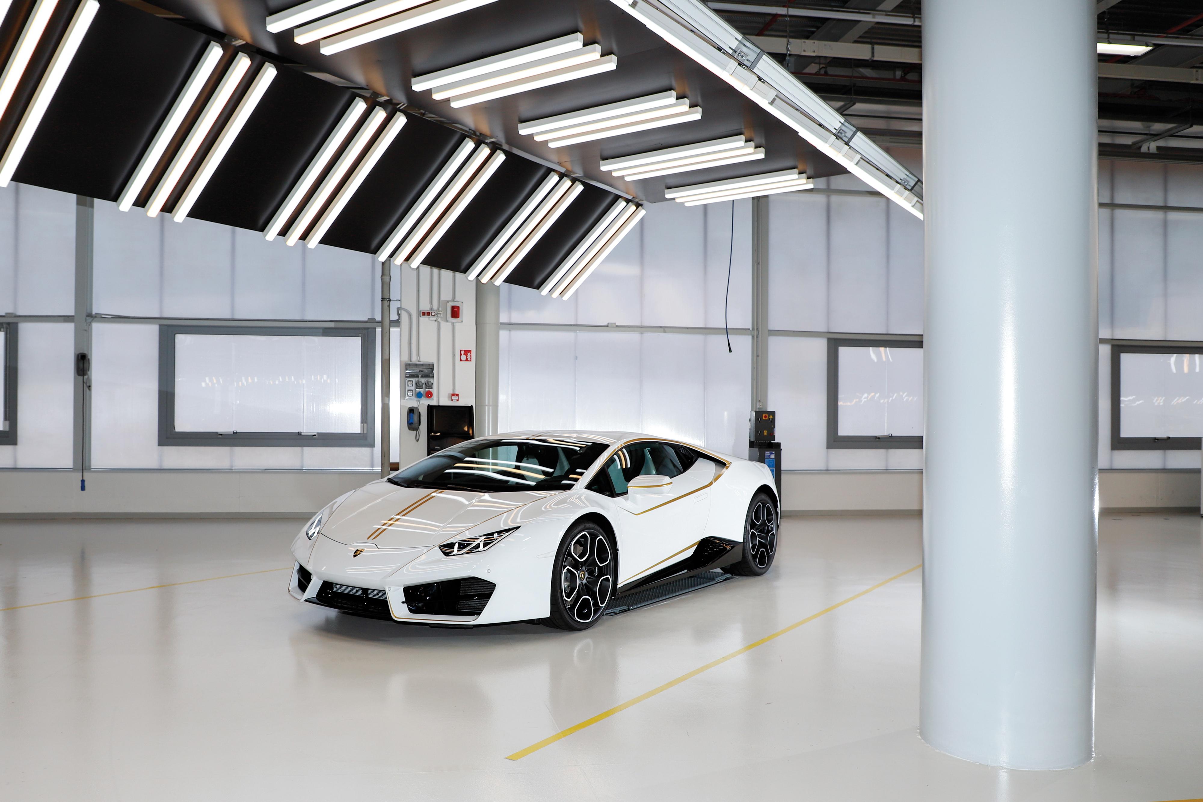 Lamborghini Huracán do Papa Francisco