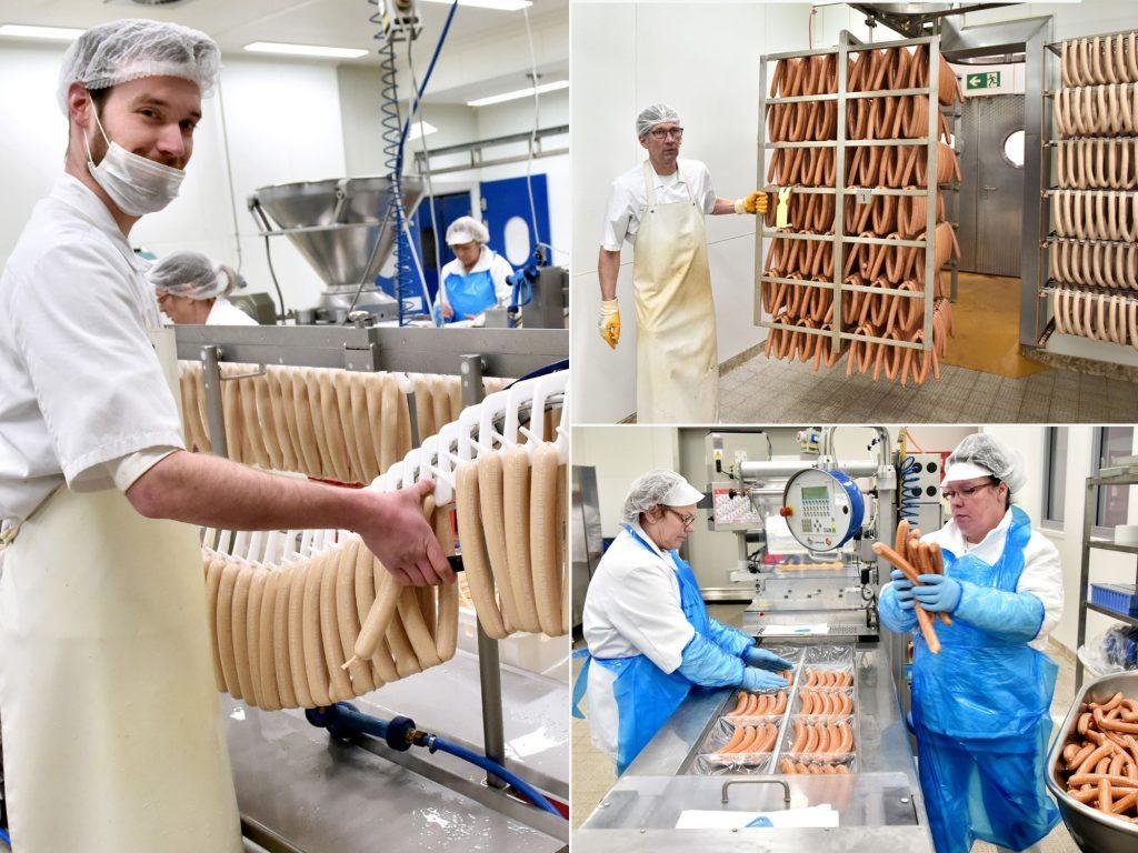 Salsicha currywurst fabricação própria Volkswagen Frankfurt 6,8 milhões de unidades em 2017 recorde