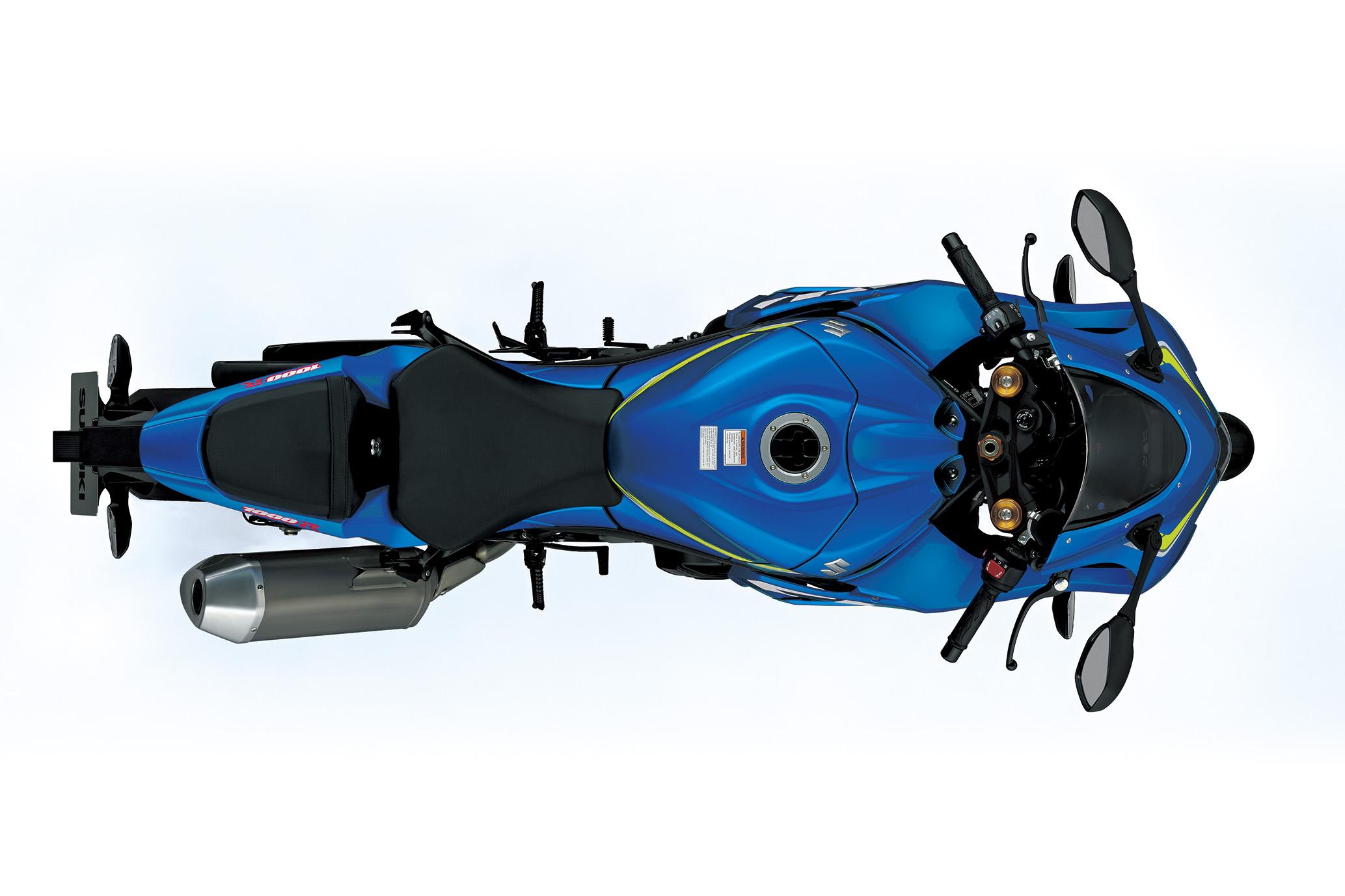"""Suzuki GSX-R 1000 ficou mais leve: 2020 kg em ordem de marcha (203 kg na versão """"R"""")"""