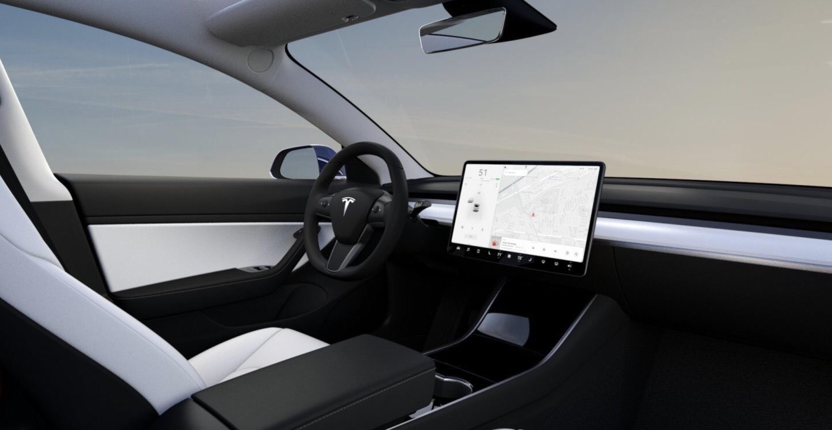 Interior Tesla Model 3 Performance