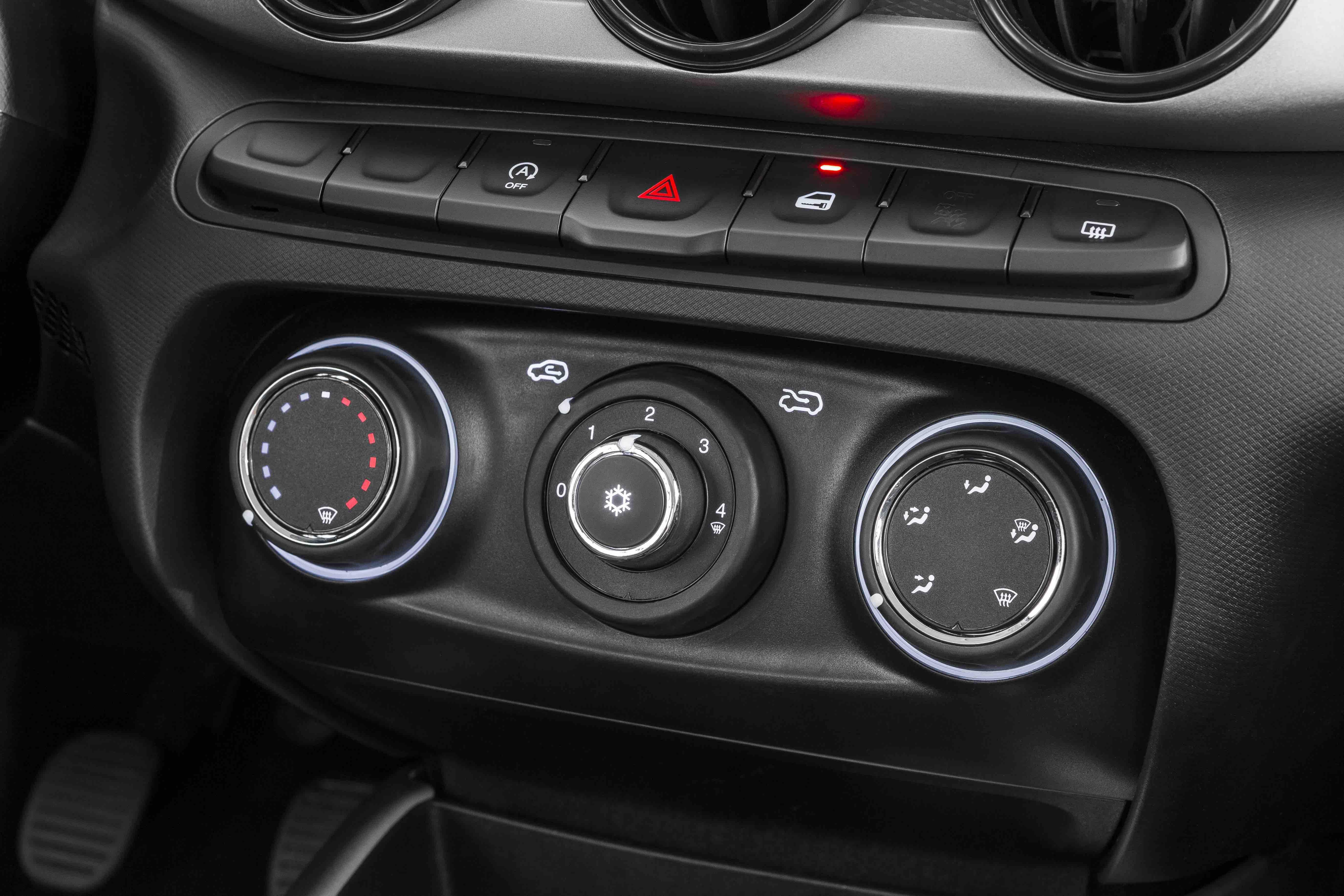 Ar-condicionado do Fiat Argo