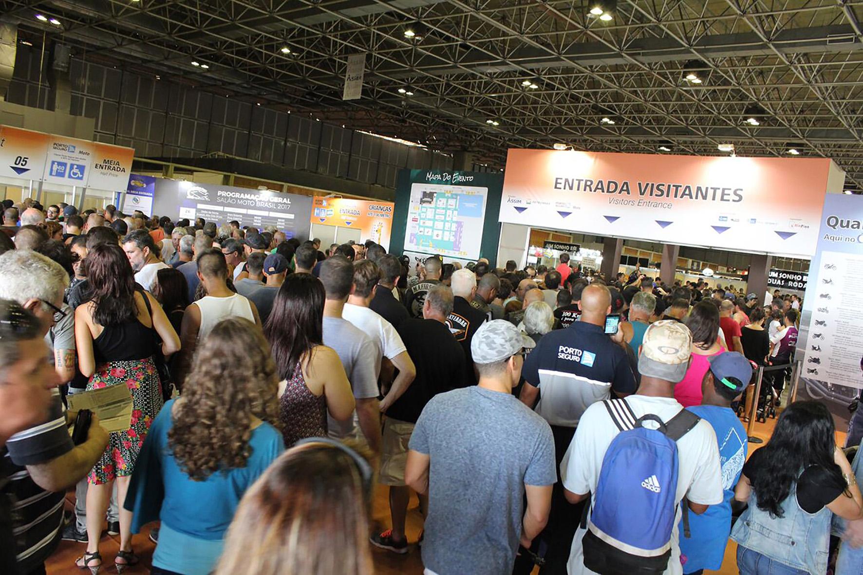 Salão Moto Brasil aconteceria entre 25 e 27 de maio no Rio, mas foi adiado para este fim de semana