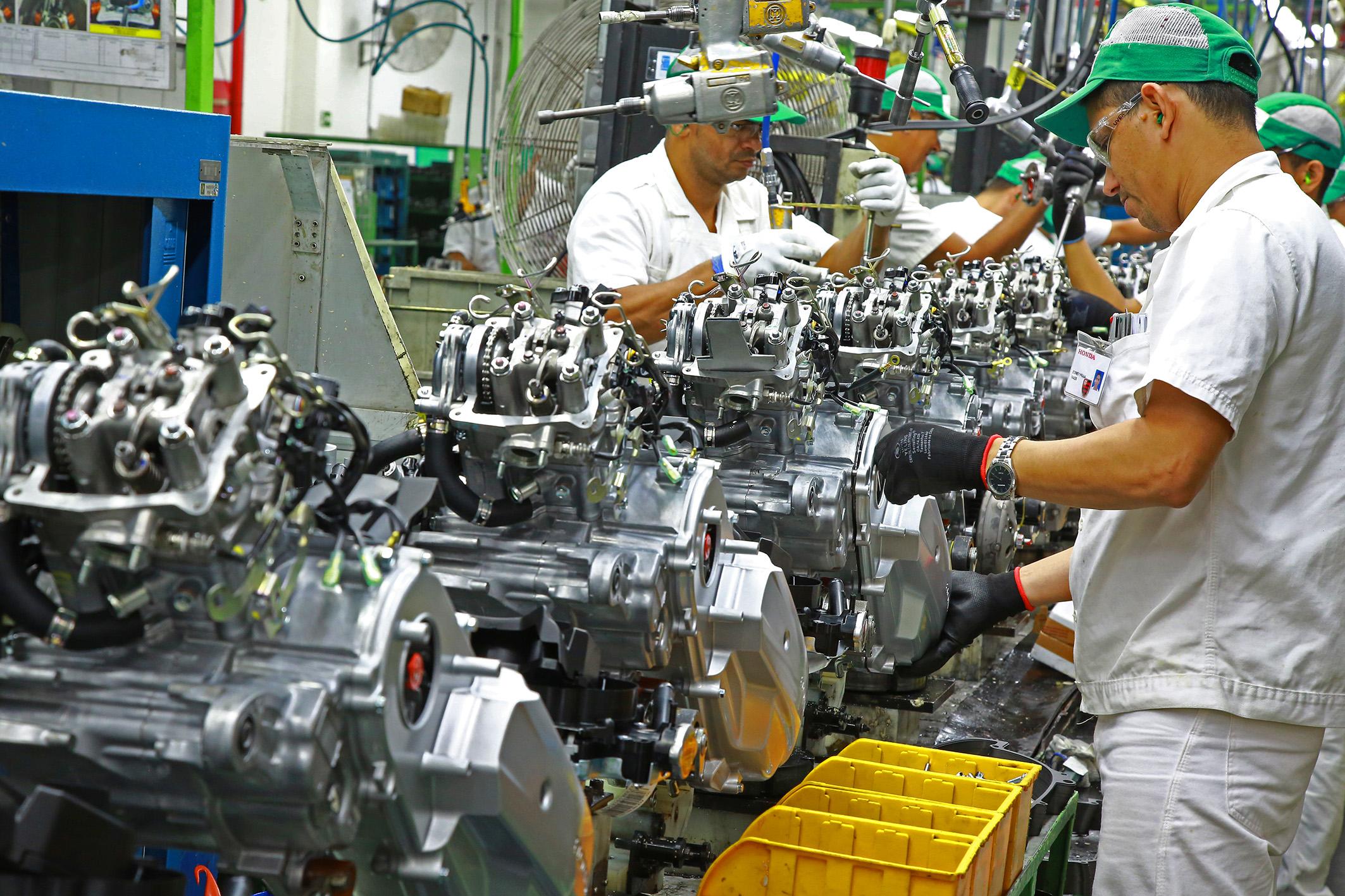 Produção de motos em Manaus (AM) ainda não foi afetada pela greve dos caminhoneiros