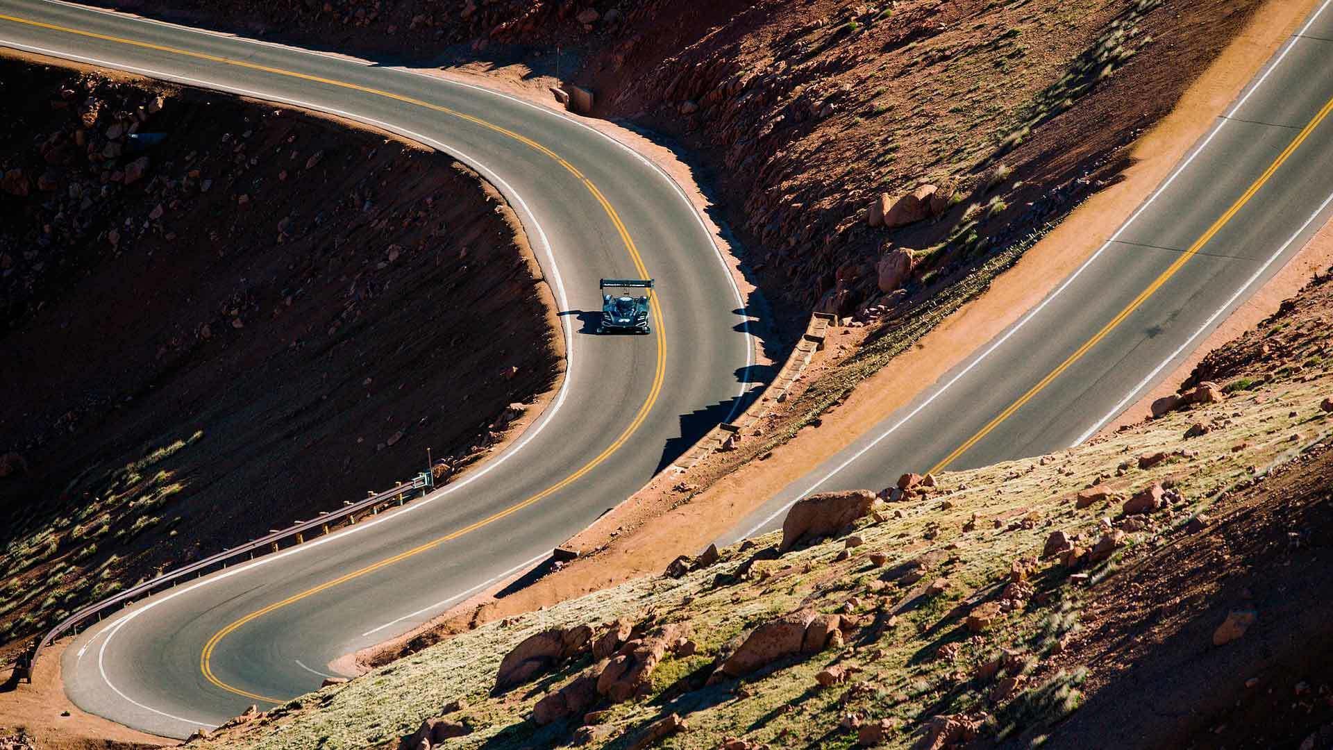 Volkswagen I.D. R Pikes Peak teste
