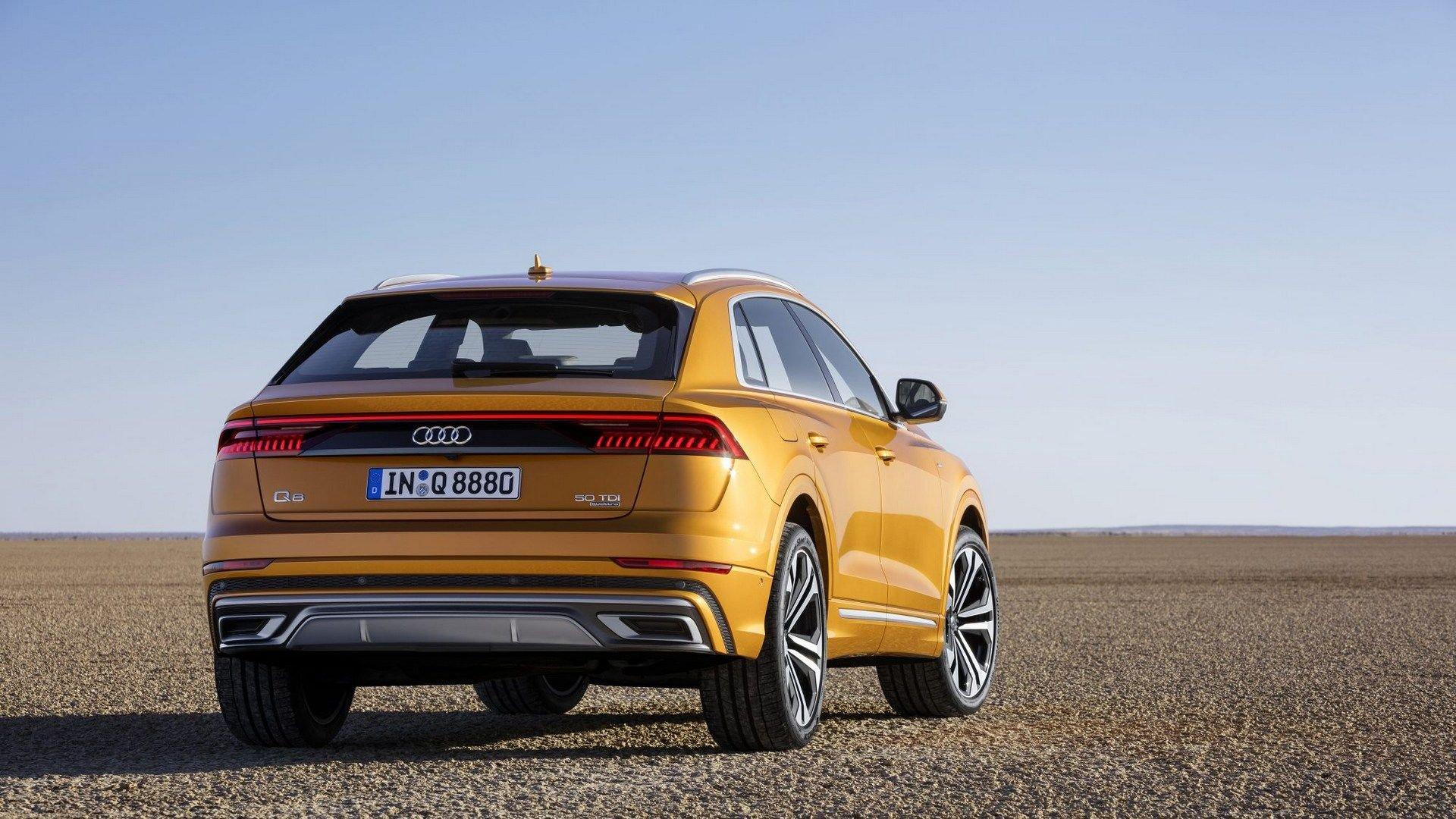 Foto vazada do Audi Q8