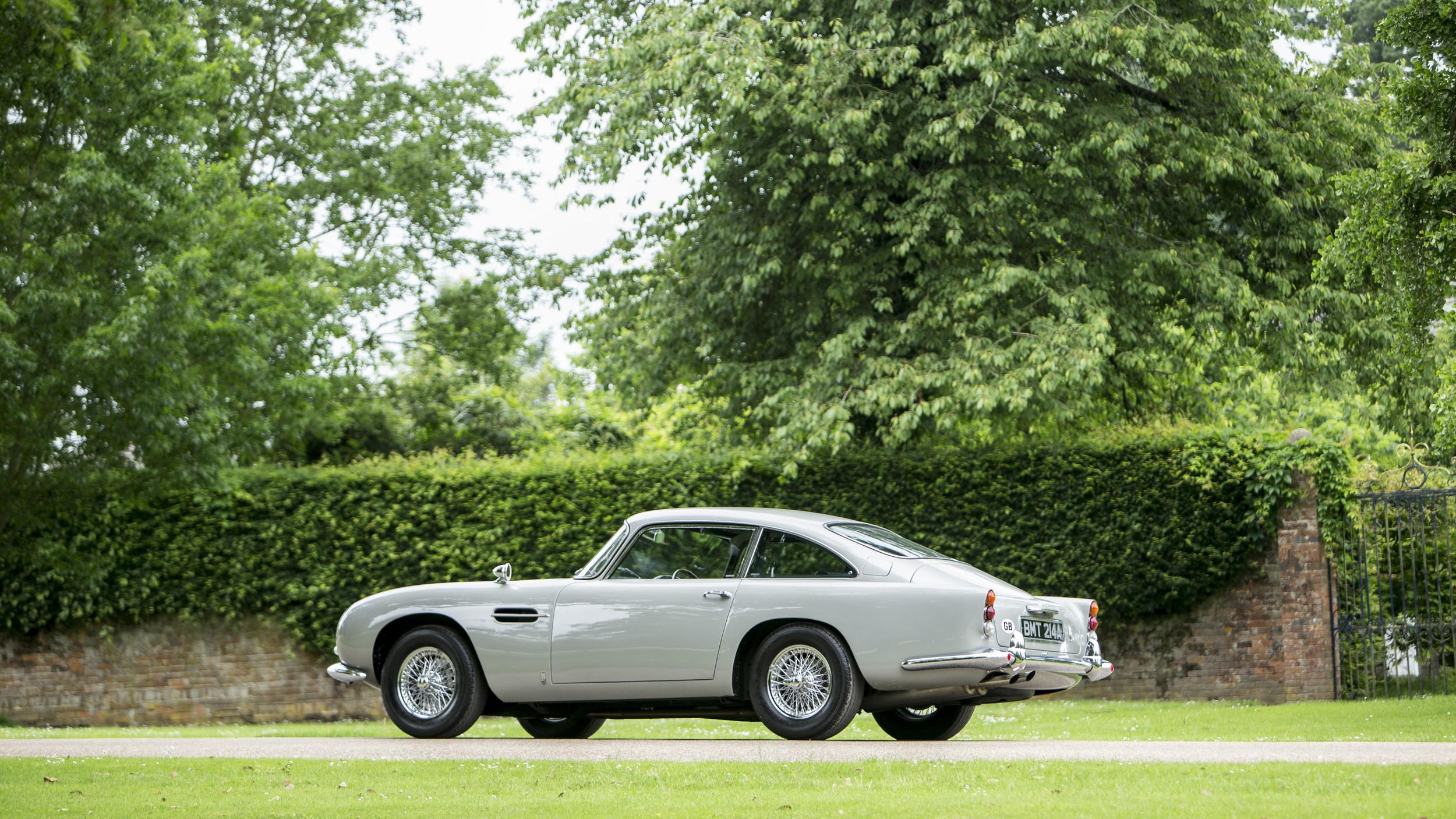 Expectativa é que o Aston DB5 fature até US$ 2,14 milhões