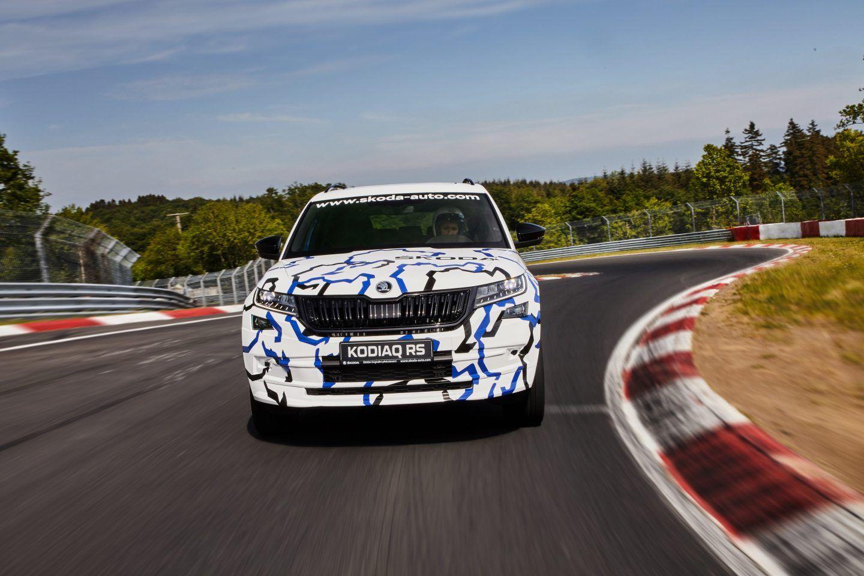 Skoda Kodiaq RS usa motor 2.0 turbodiesel de 239 cv