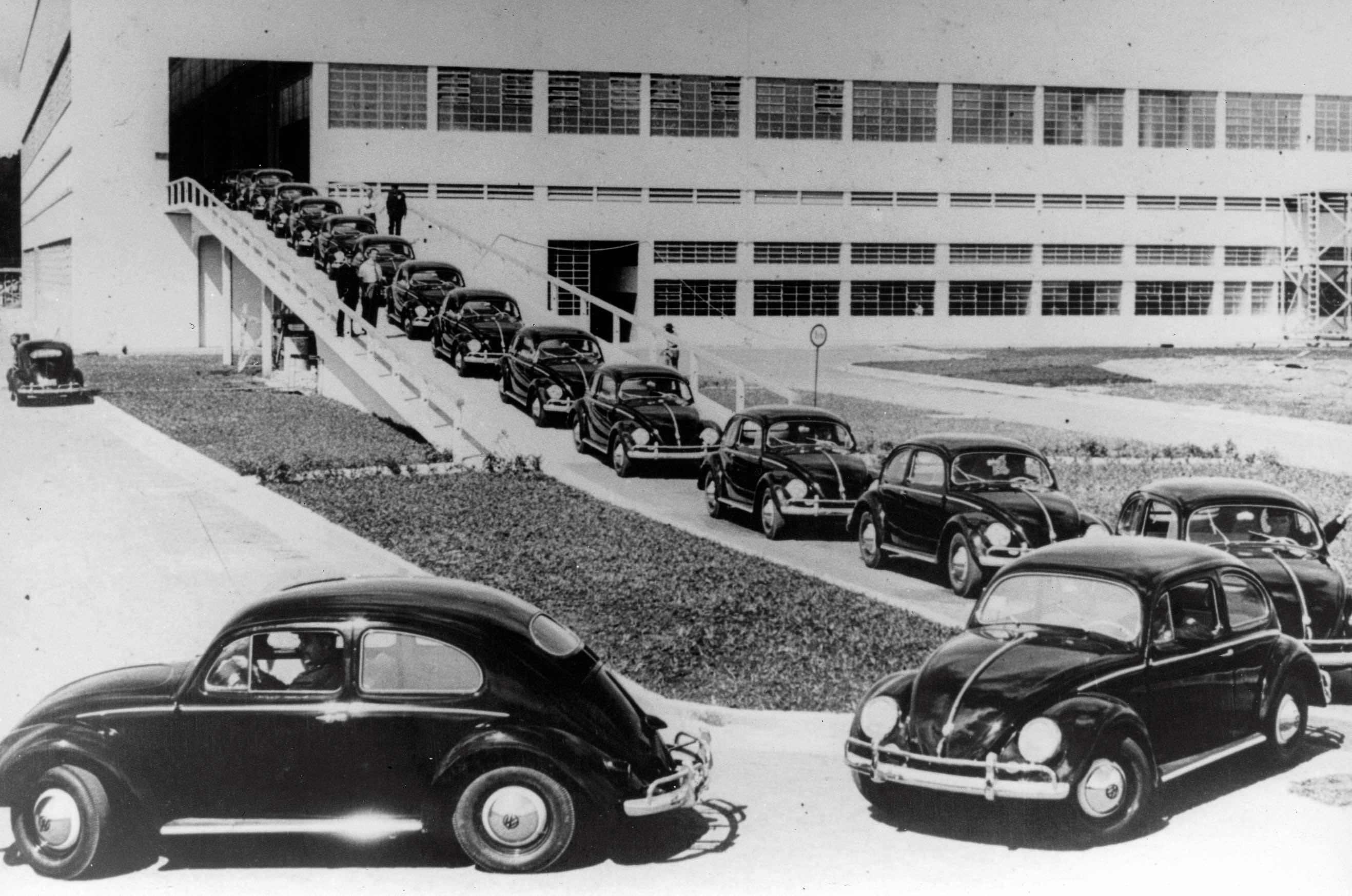 Início da fabricação nacional do Fusca foi em 1959, em São Bernardo do Campo (SP)