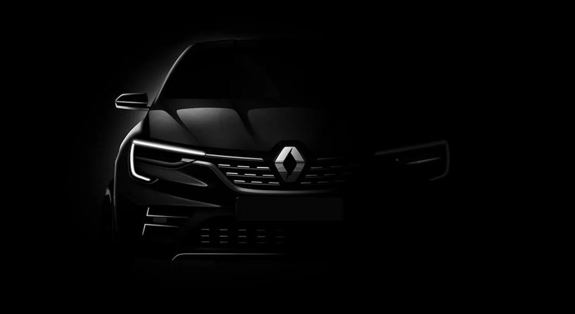 Renault Cupe tem primeira imagem divulgada pela marca francesa