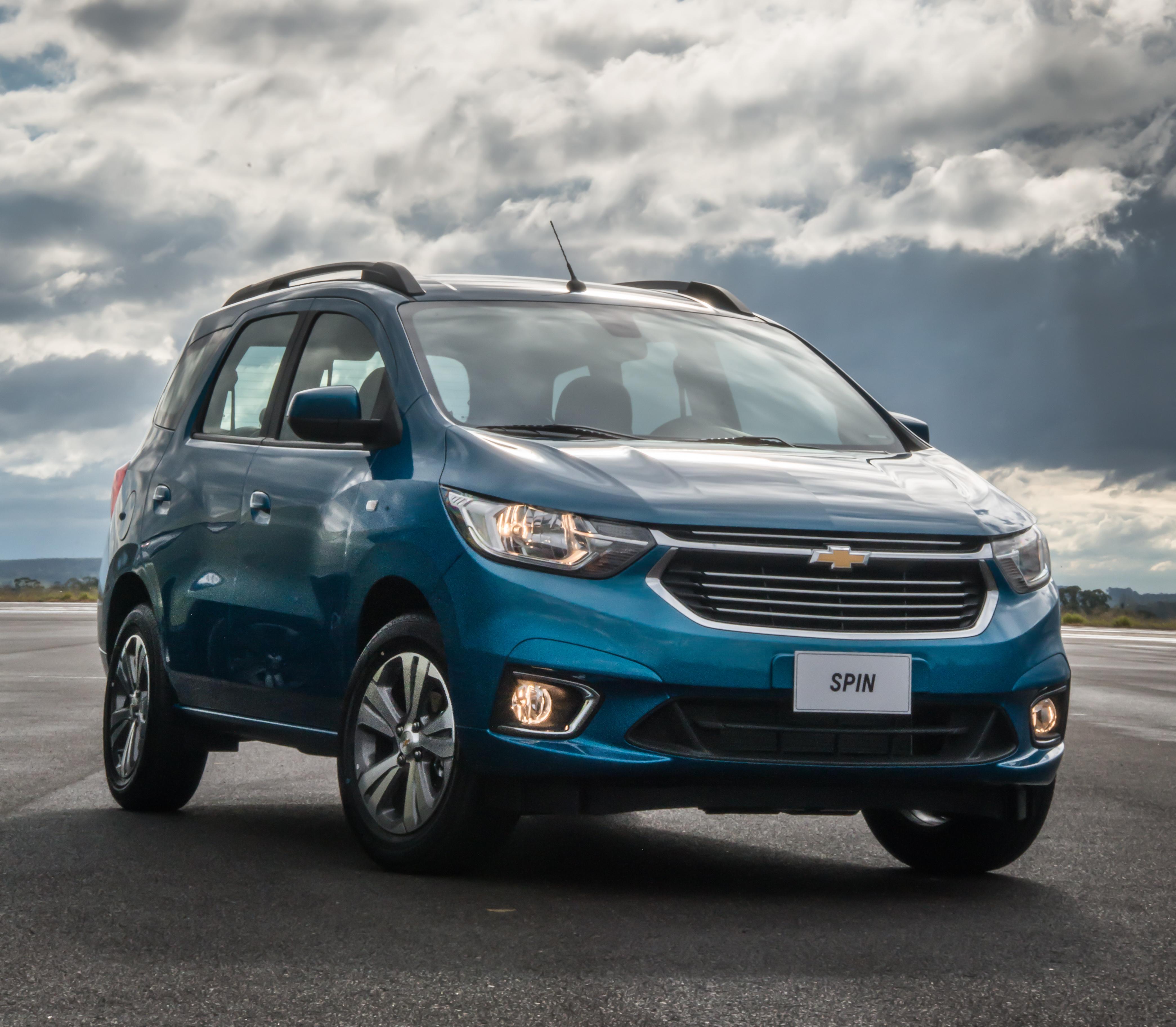 Chevrolet Spin Activ Ltz 2019