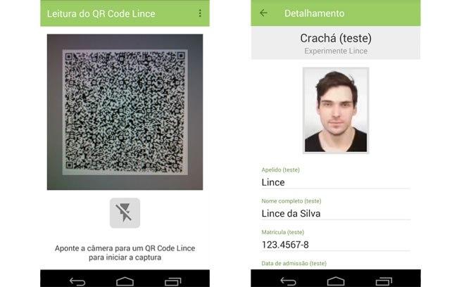 QR Code é o instrumento para verificar a autenticidade da CNH-e por meio do aplicativo Lince, usado pelos agentes de trânsito e que qualquer um pode baixar