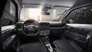 Interior do Citroen C4 Cactus