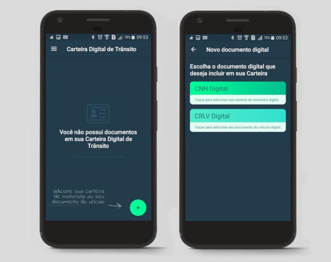 Novo aplicativo Carteira Digital de Trânsito agrega o CRLV eletrônico e a CNH digital