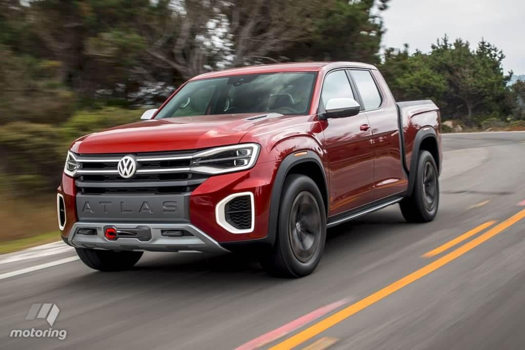 Volkswagen Atlas Tanoak Concept é maior que a Amarok