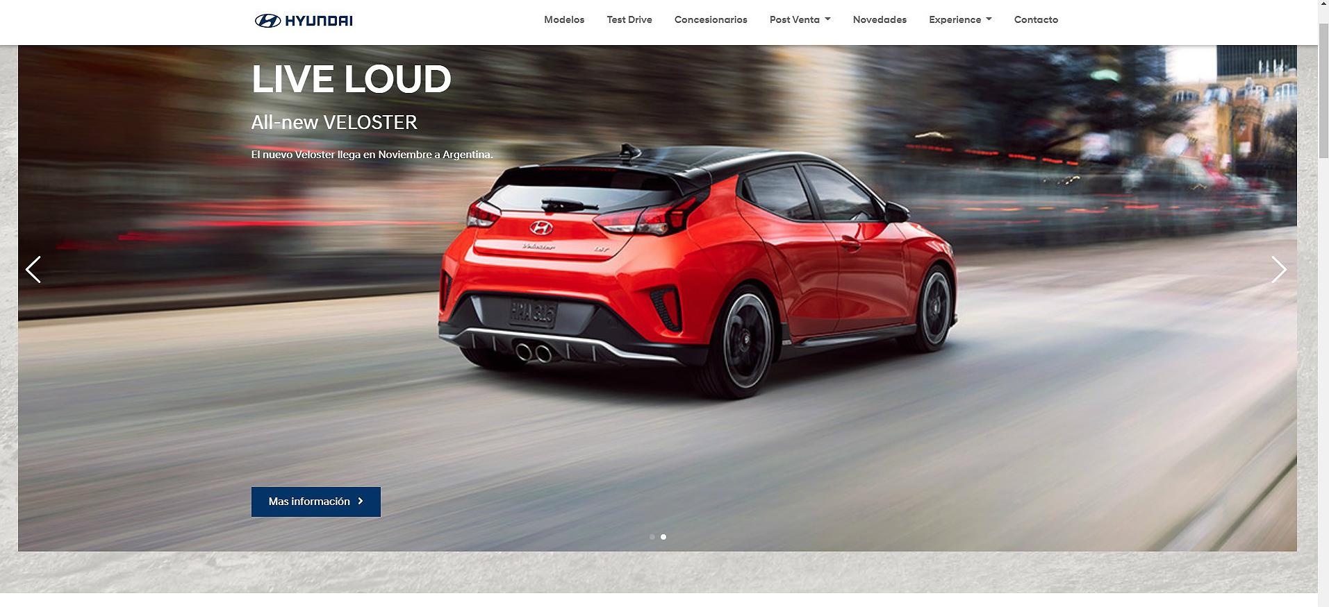 Hyundai Veloster reprodução