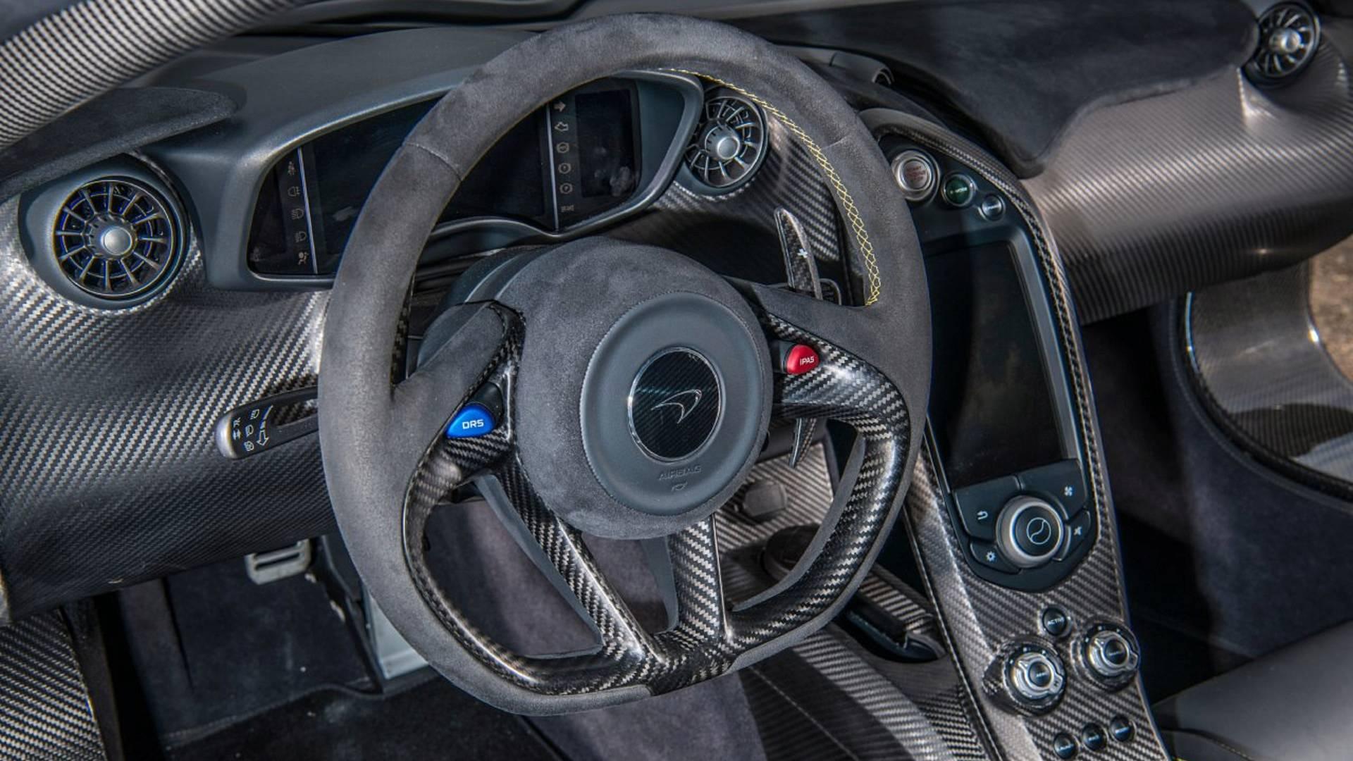Jenson Buttons Mclaren P1 For Sale 2