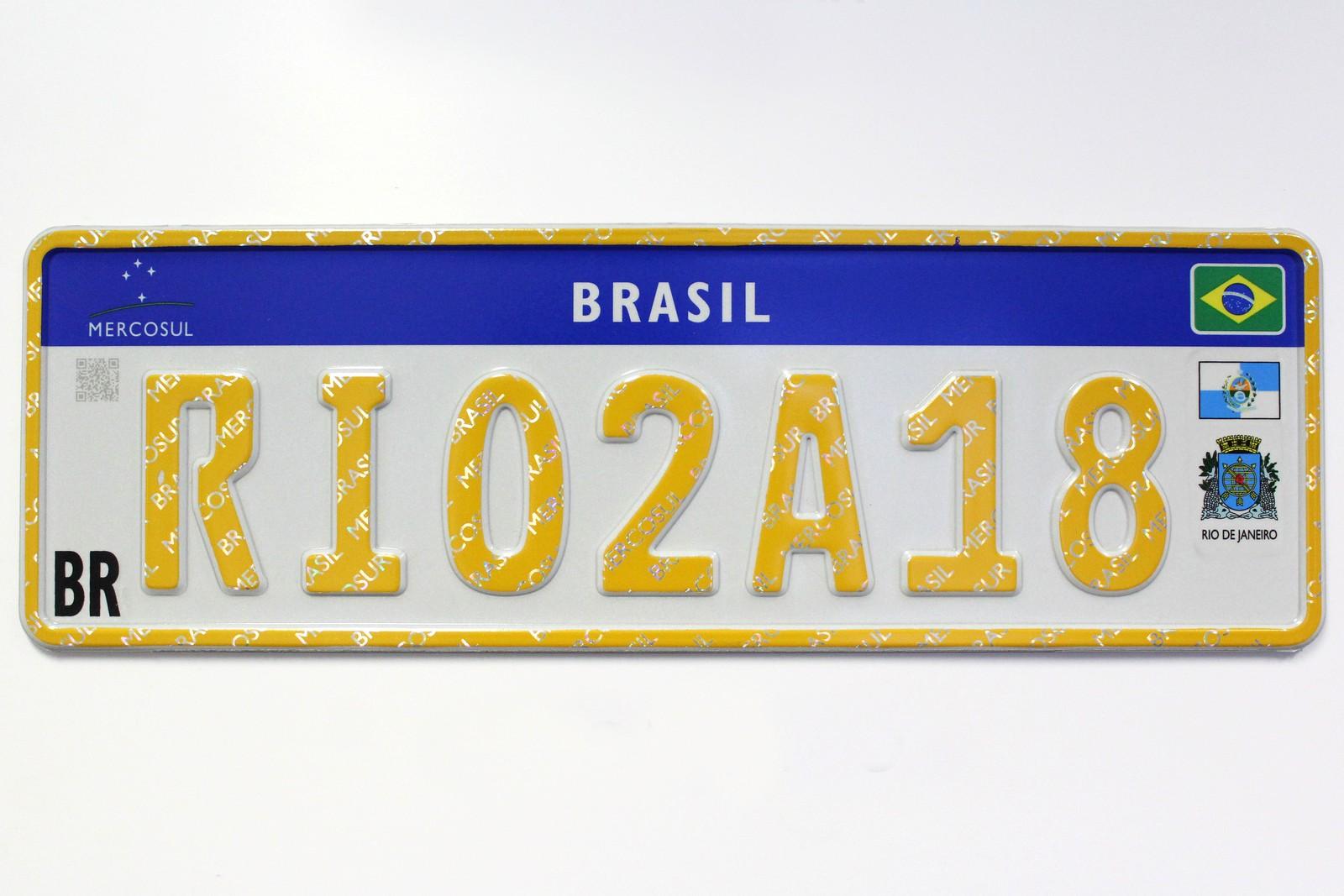 Placa Mercosul homenageará o Rio de Janeiro