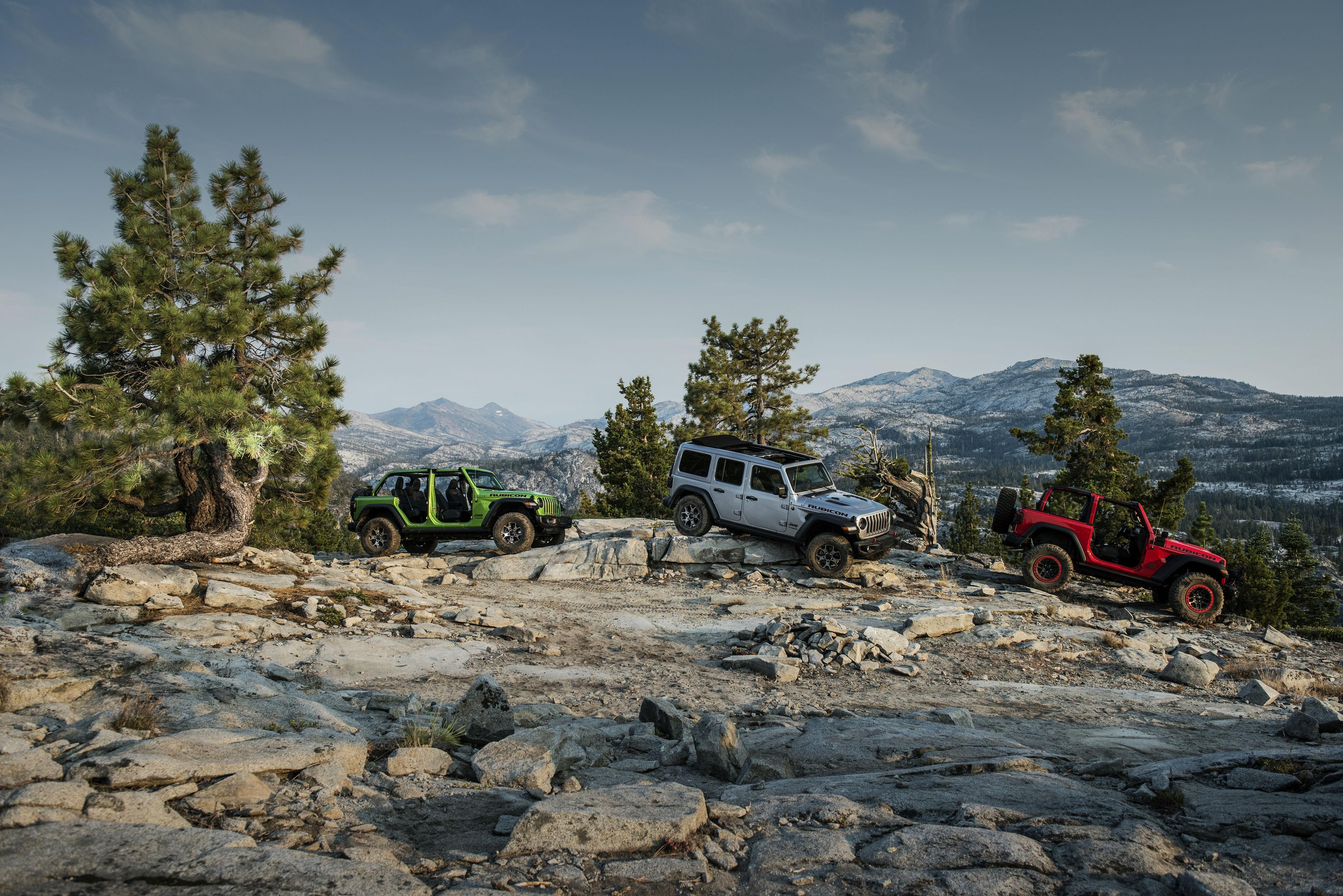 Novo Jeep Wrangler 2019 encara uma das trilhas mais difíceis do mundo