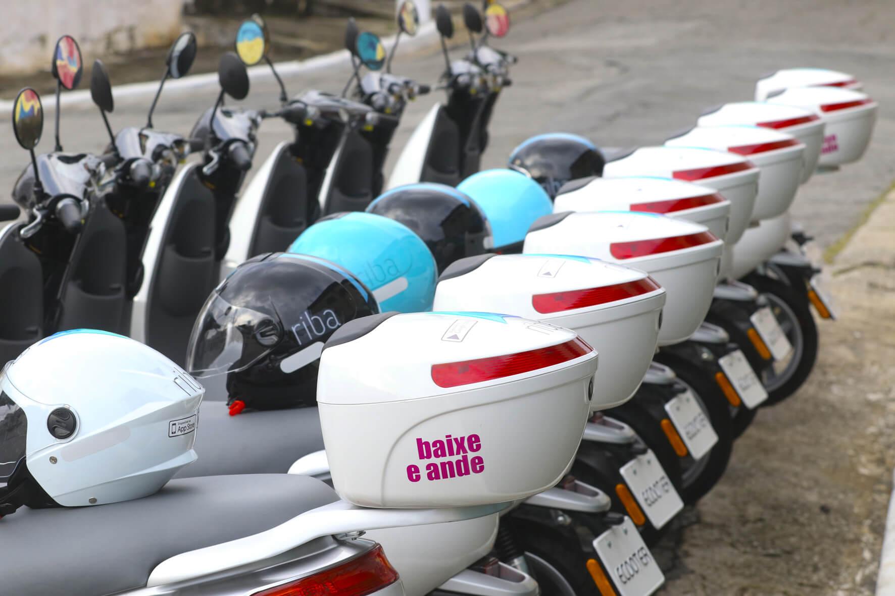 Como usar o scooter por aplicativo em São Paulo
