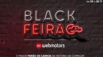 Black Feirão Webmotors: o maior feirão de carros do Brasil
