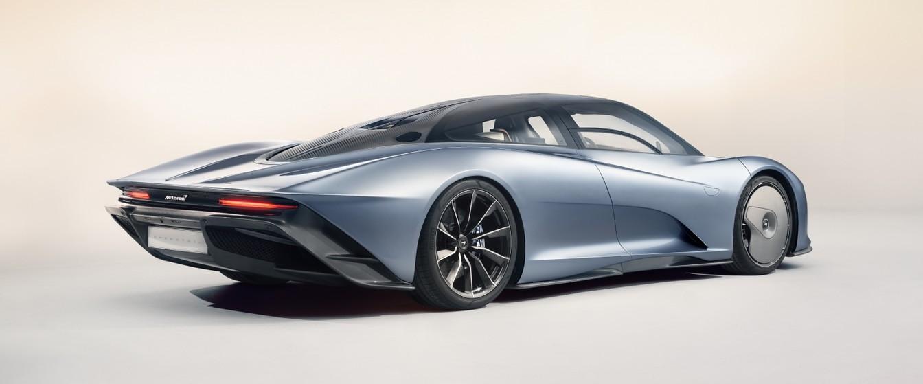 McLaren Speedtail entrega 1.050 cv
