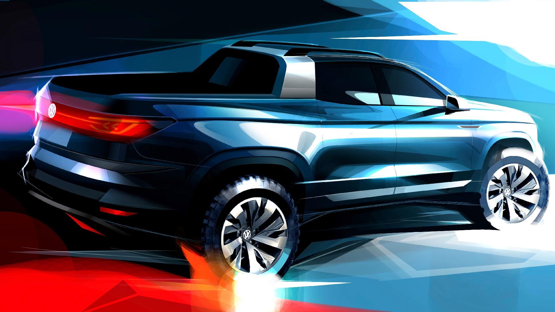 Teaser Volkswagen Tarok Concept
