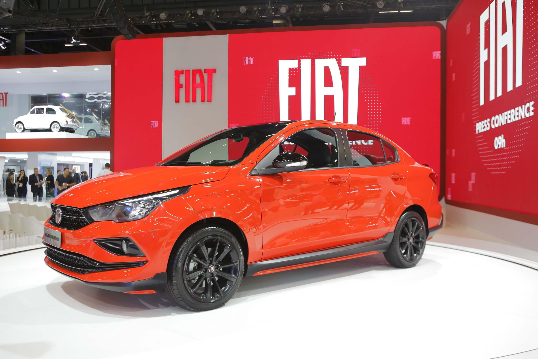 Fiat Cronos Sport que deu origem ao HGT