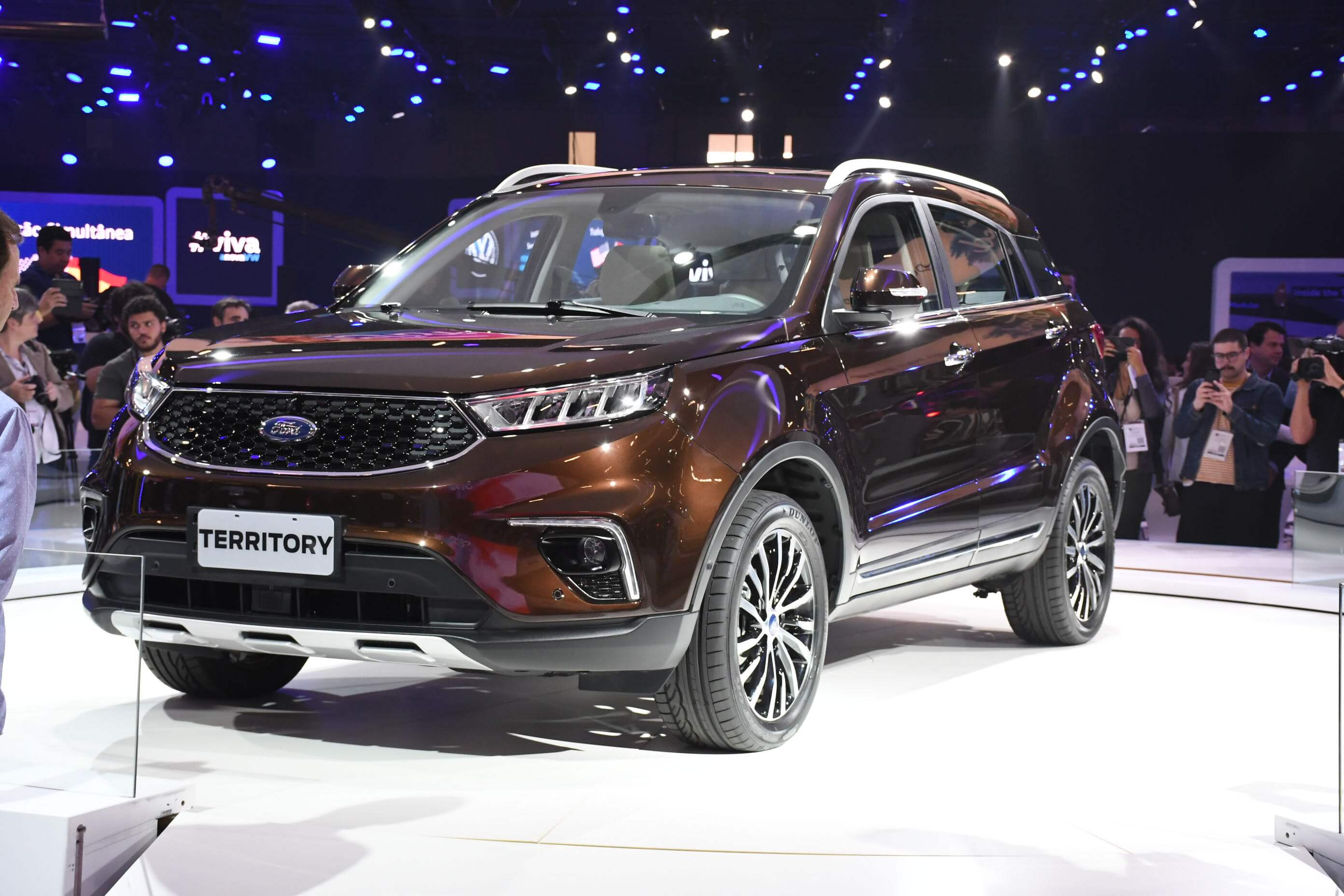 Ford Territory deverá ser rival do Compass