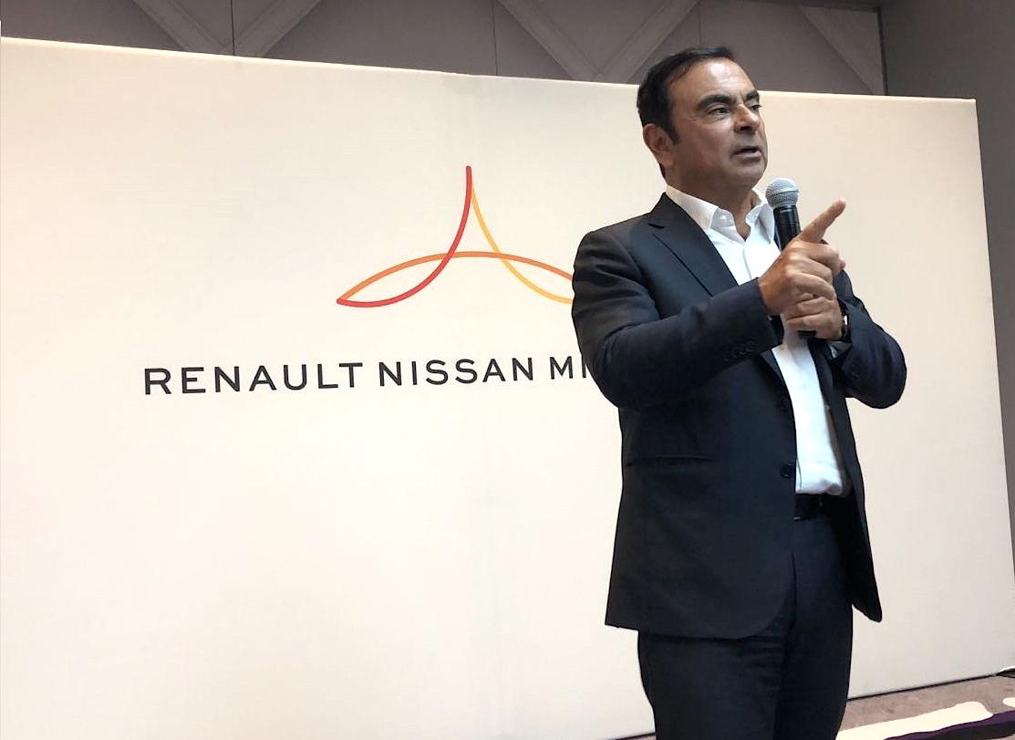 Carlos Ghosn está no Grupo Renault-Nissan-Mitsubishi desde 1996