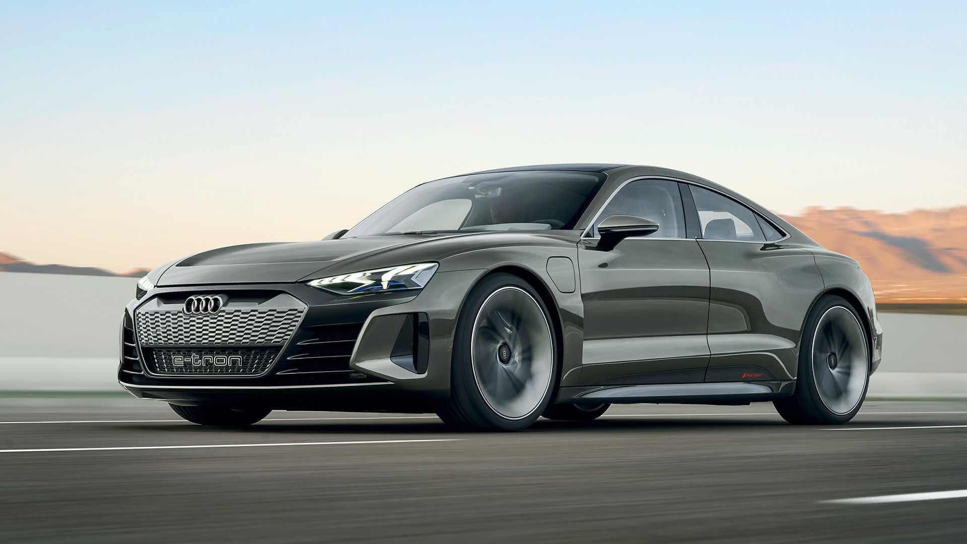 2019 Audi E Tron Gt Concept 2