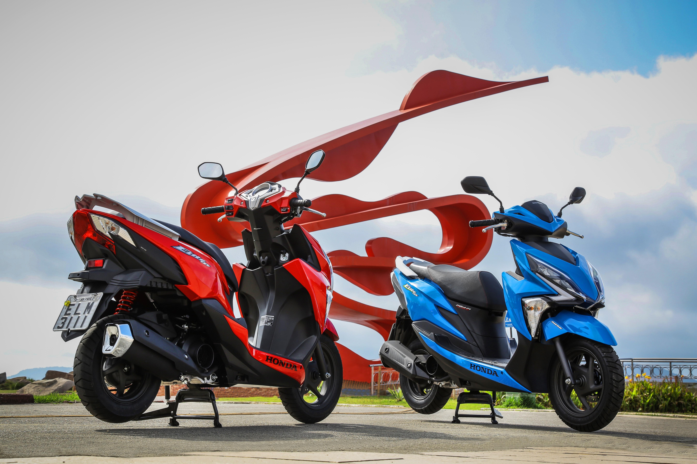 O Honda Elite 125 será oferecido em quatro cores