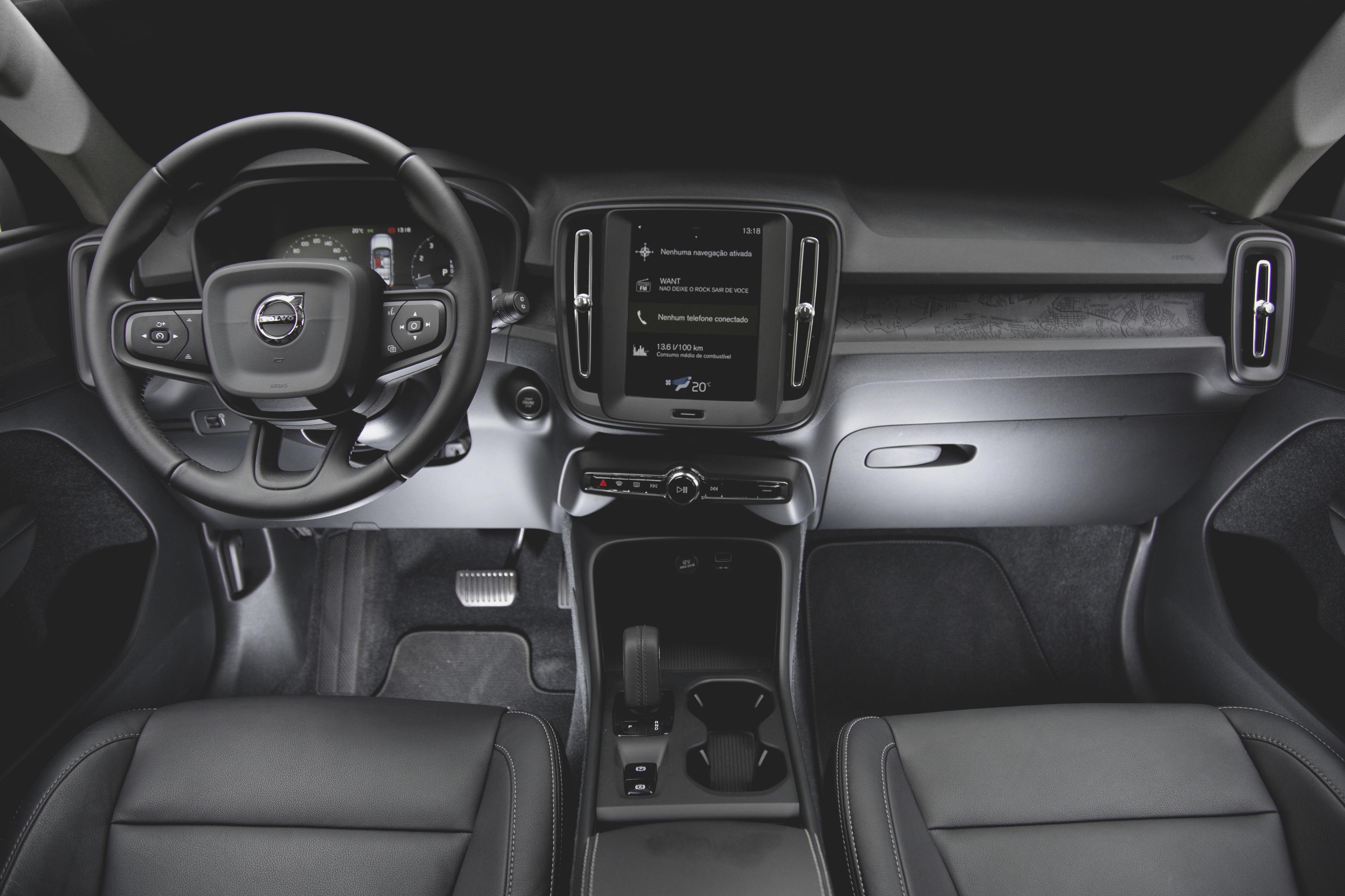 Interior do Volvo XC40