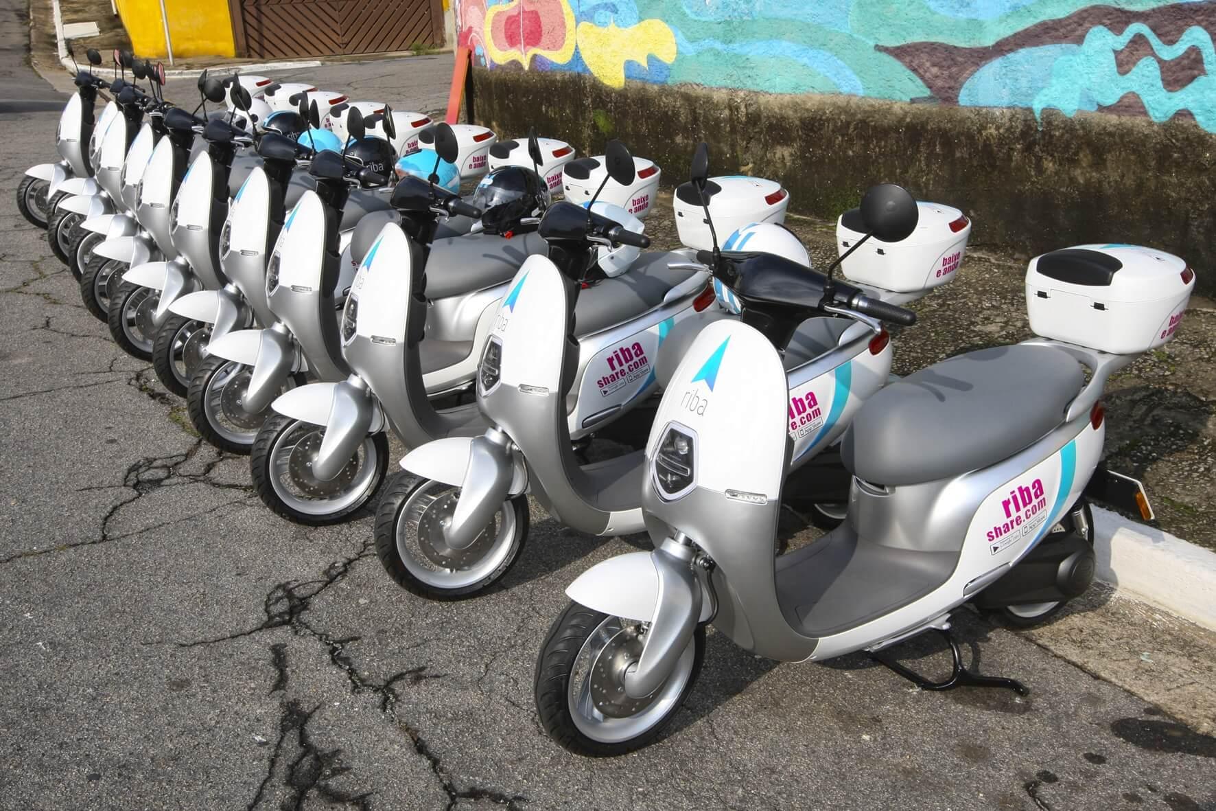 Além de bicicletas e patinetes, São Paulo ganhou um serviço de scooter compartilhado neste ano