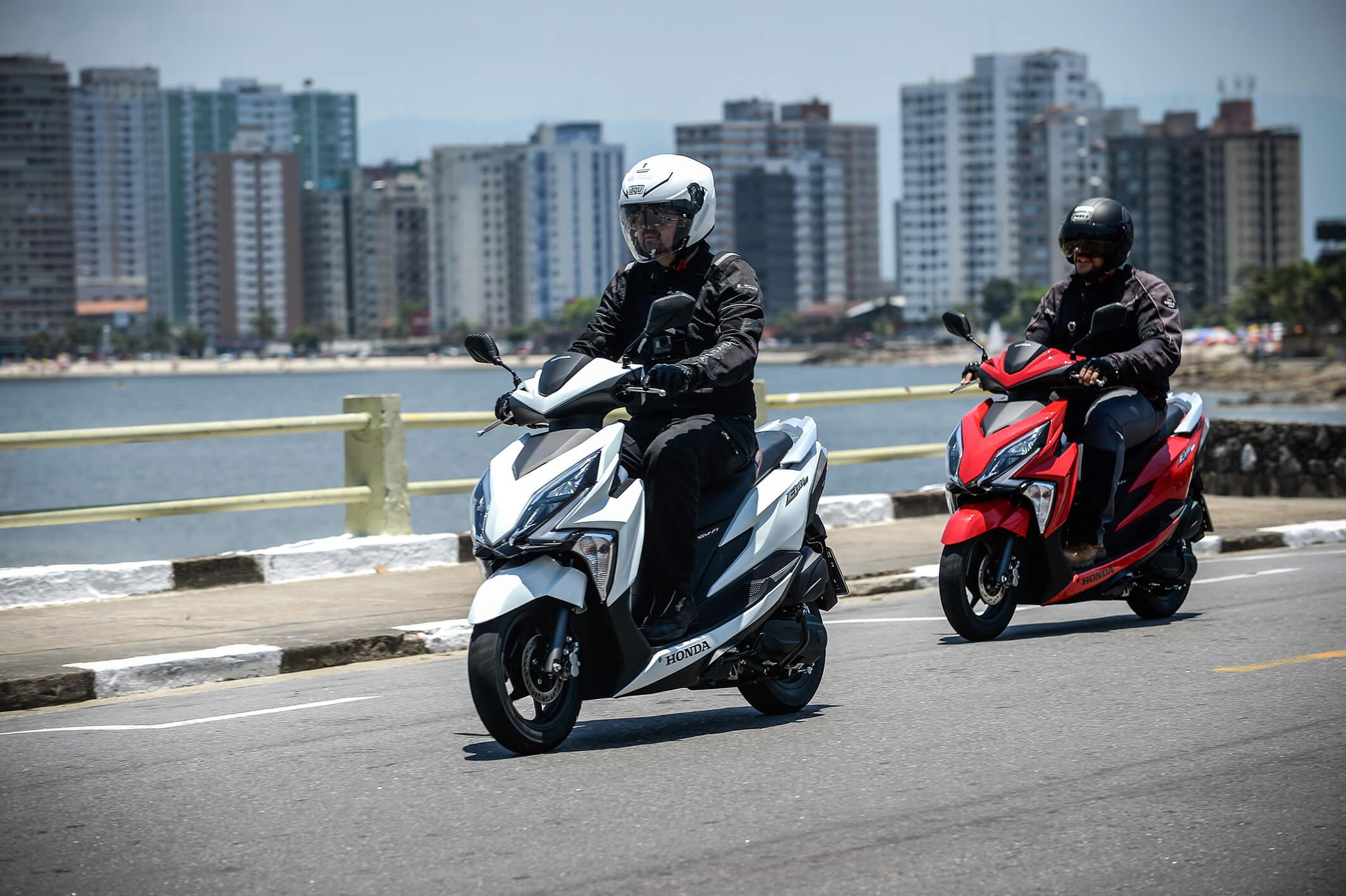 O aumento na venda de scooters, que cresceu 18% no ano, trouxe novos modelos como o Honda Elite 125