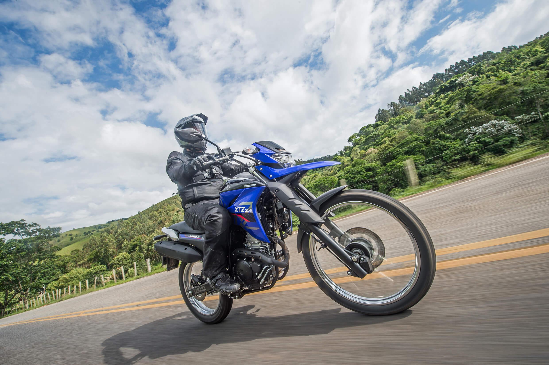 Honda e Yamaha renovaram suas trails: XRE 300 tem nova roupagem; Lander (foto) ganhou ABS