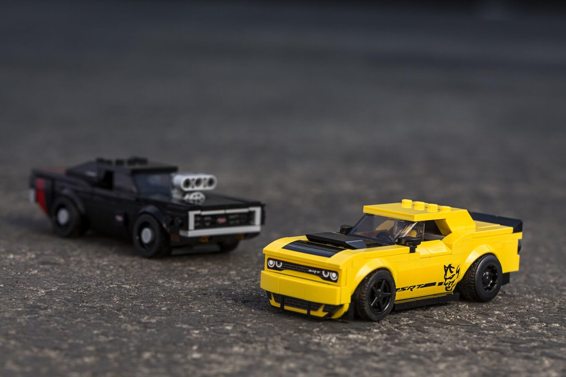 Dodge Lego Speed Champions custa US$ 39,95 nos EUA