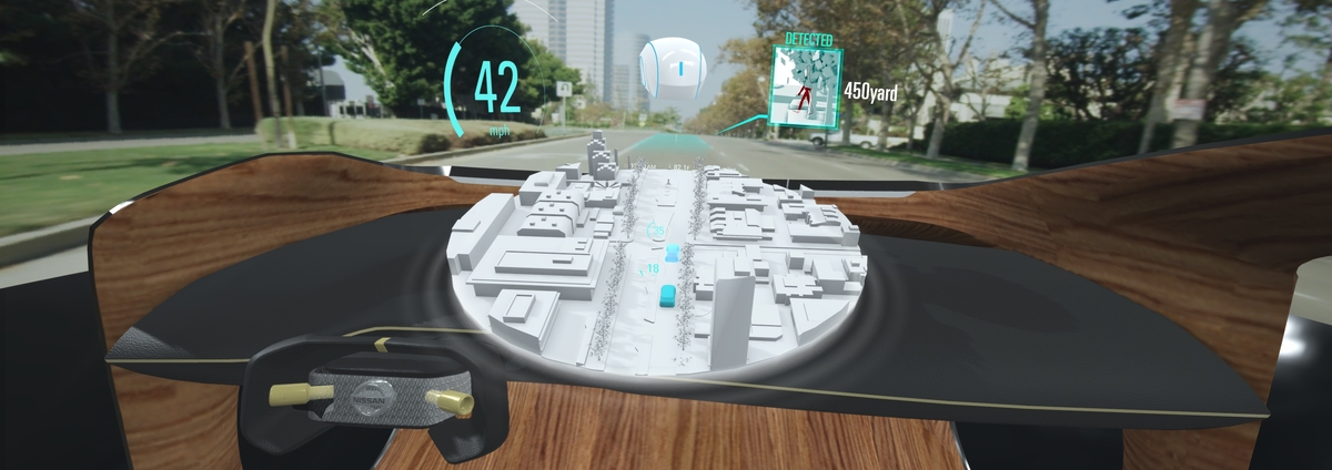 Nissan Revela a Tecnologia Invisible To Visible
