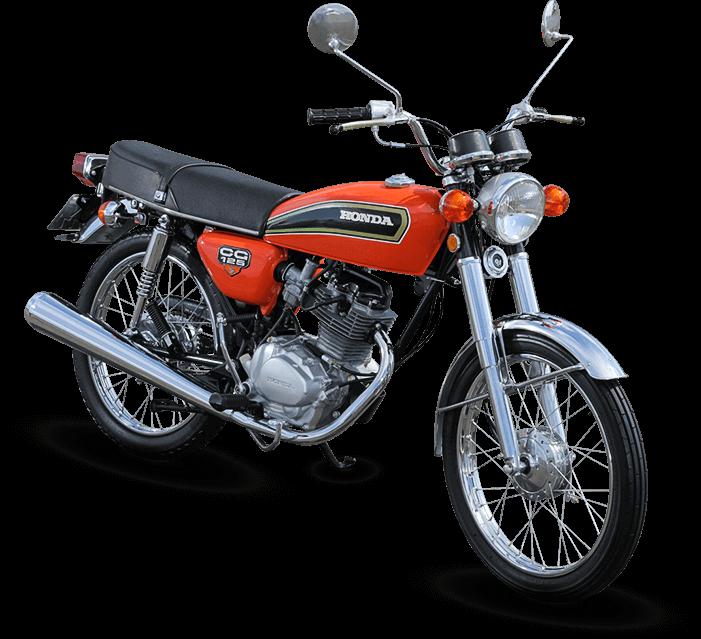 Honda CG 125 de 1976