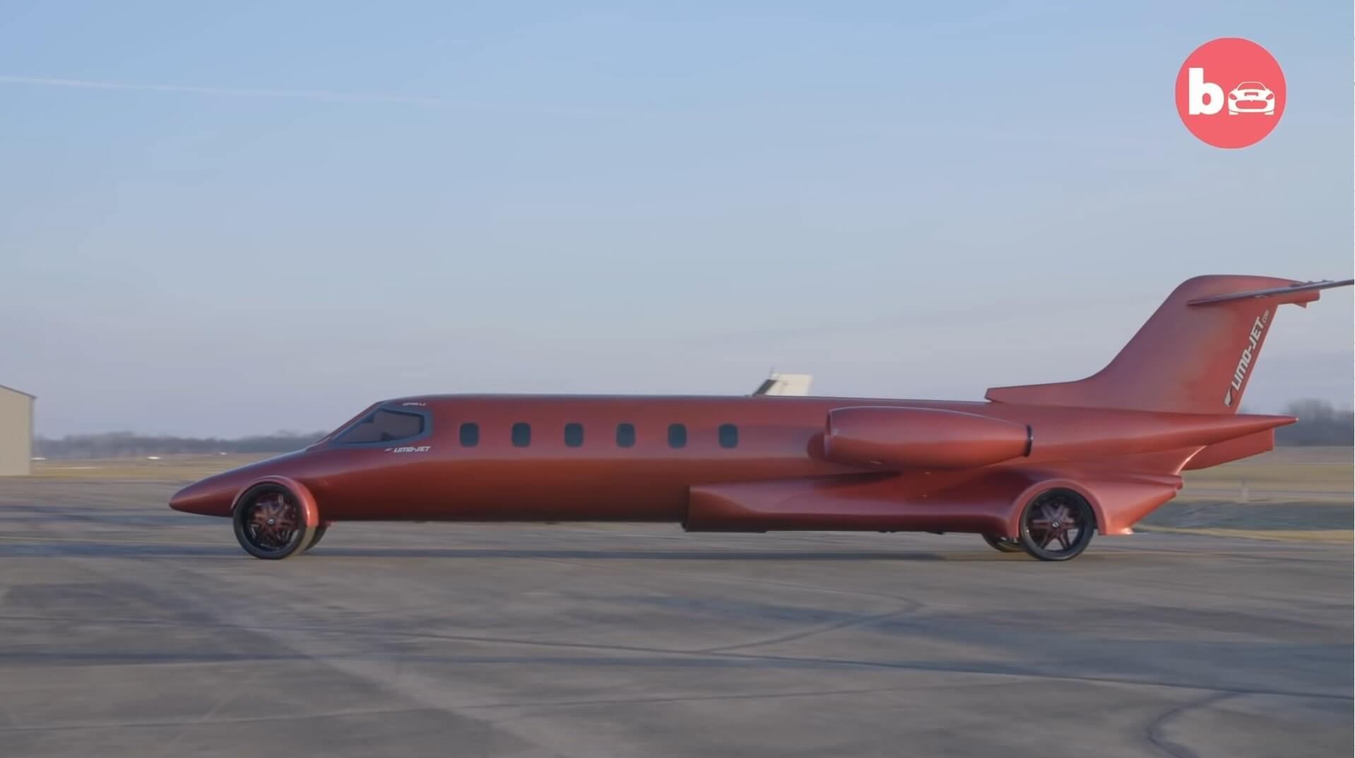Limojet tem motor V8 e chega a 160 km/h