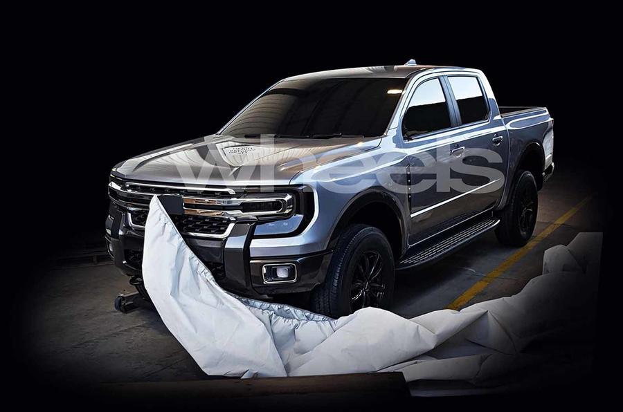 Próxima geração Ford Ranger