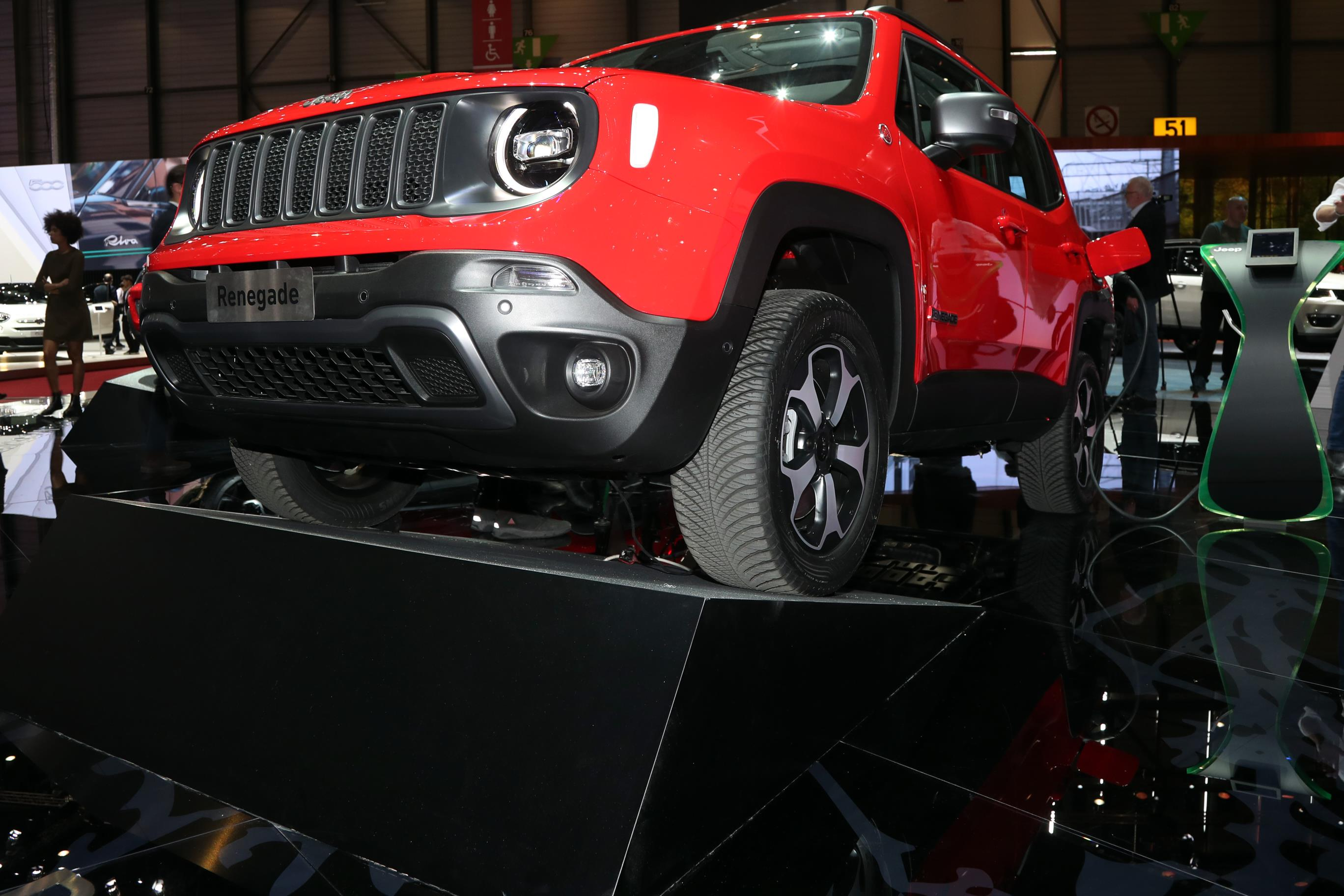 Jeep Renegade Híbrido Plug-in