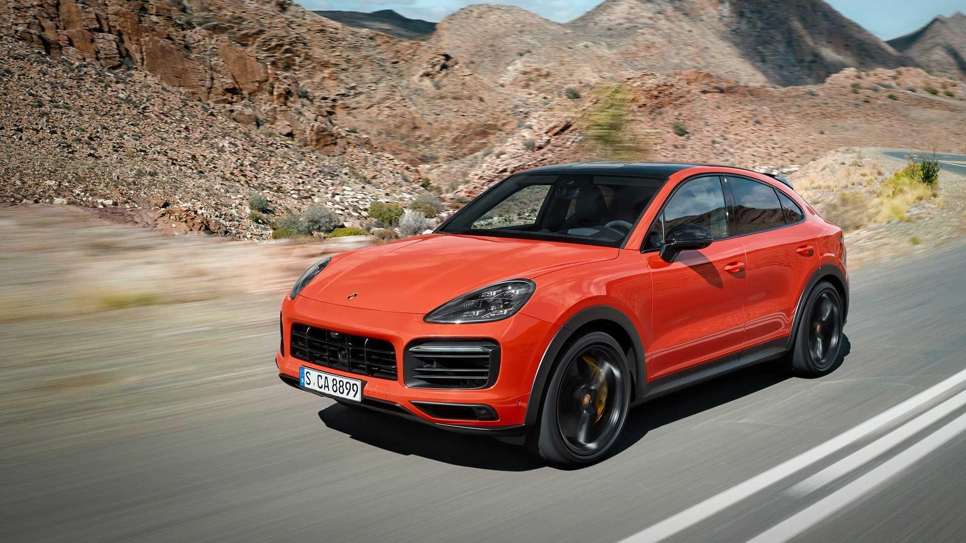 Porsche Cayenne Coupe 2019 2