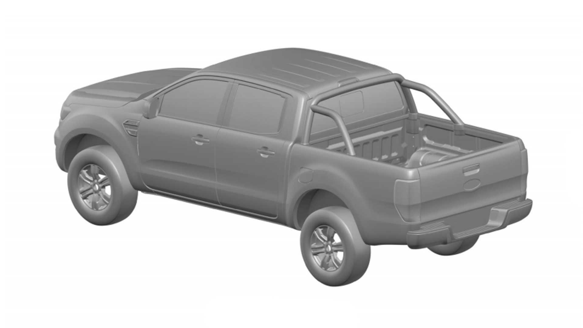 Ford Ranger Reestilizada Inpi 1