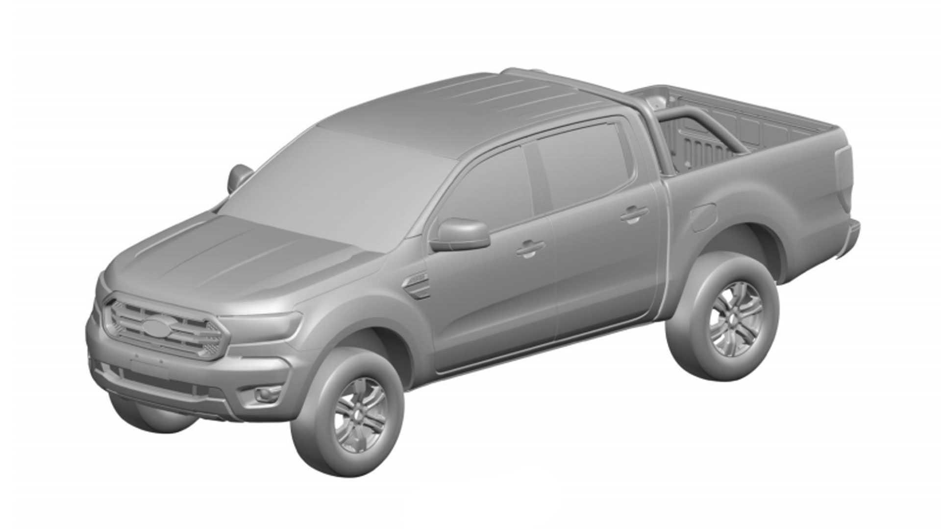 Ford Ranger Reestilizada INPI